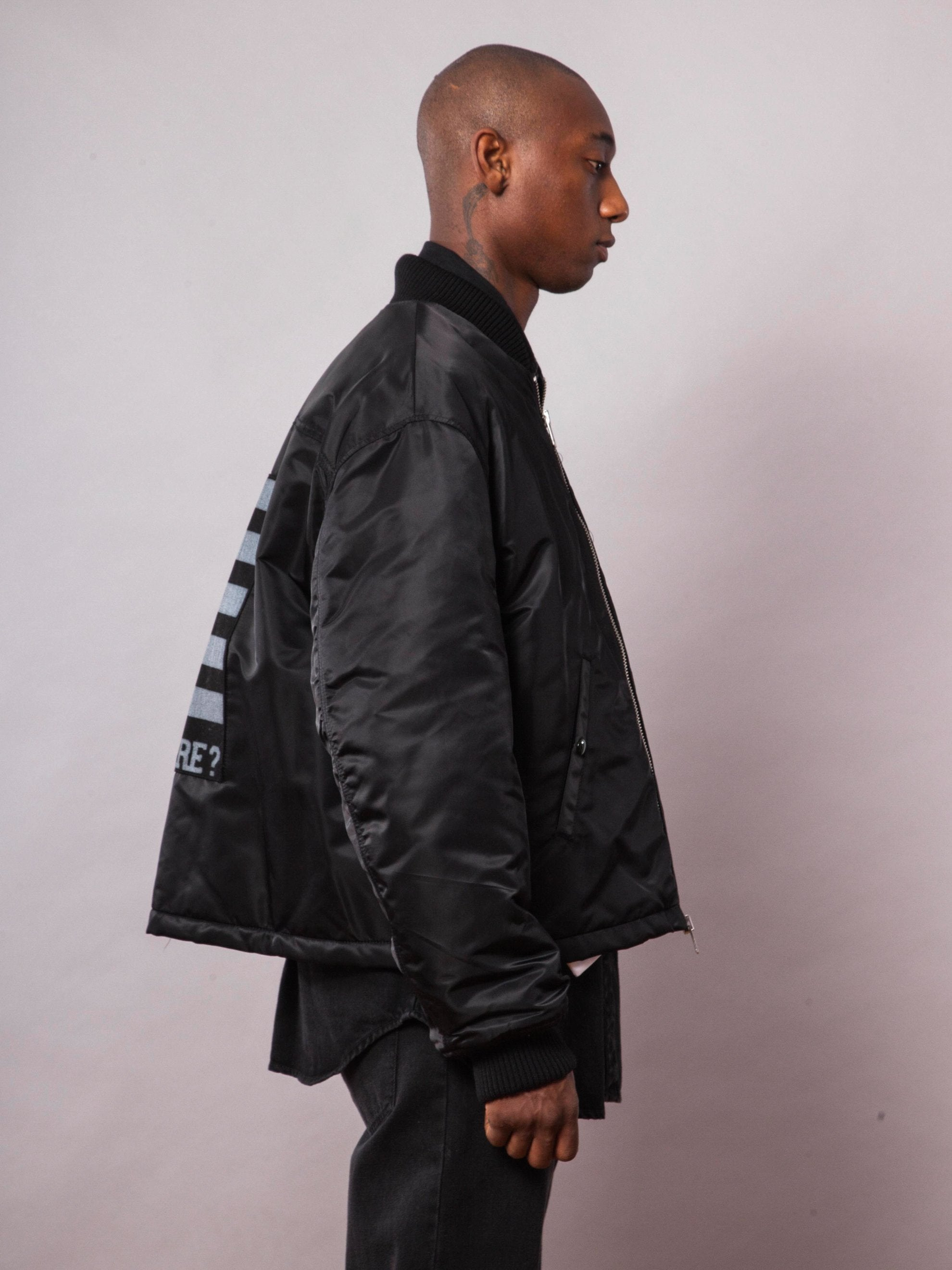Black Short Bomber 4