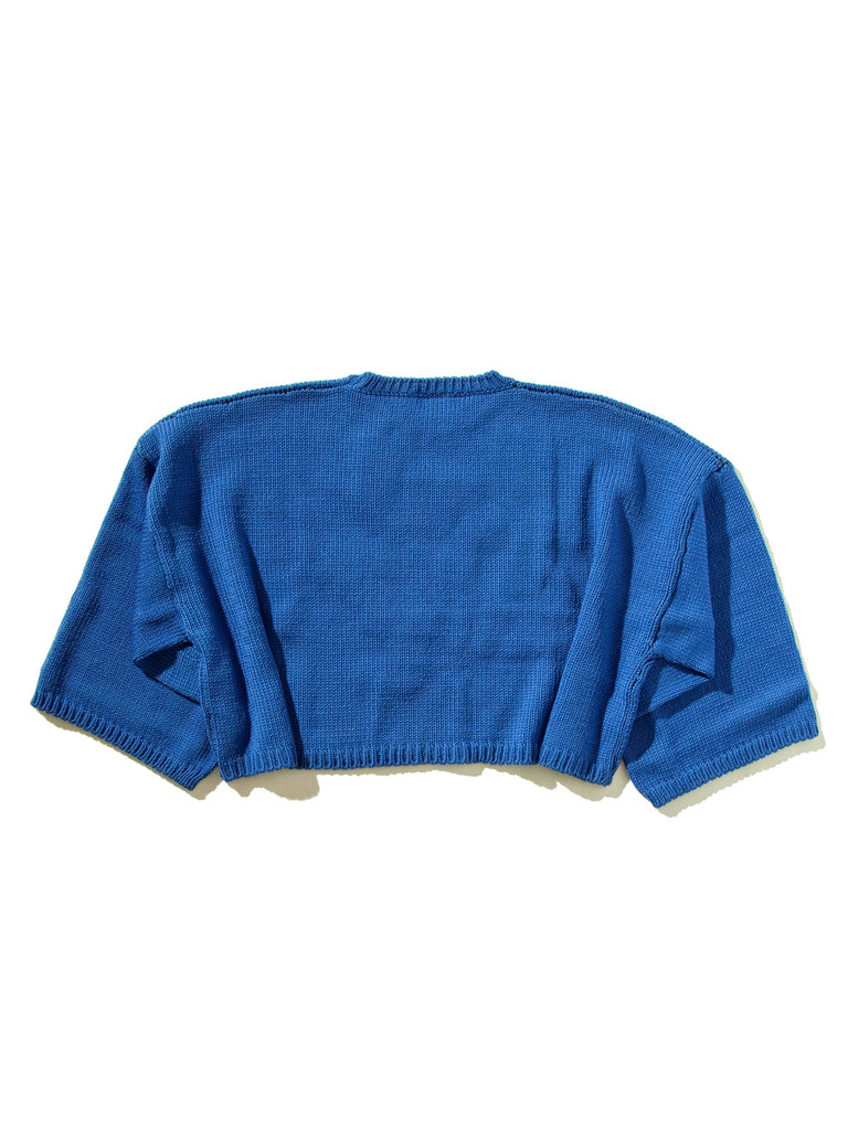 L Oversized Jacquard Sweater 1045307592713