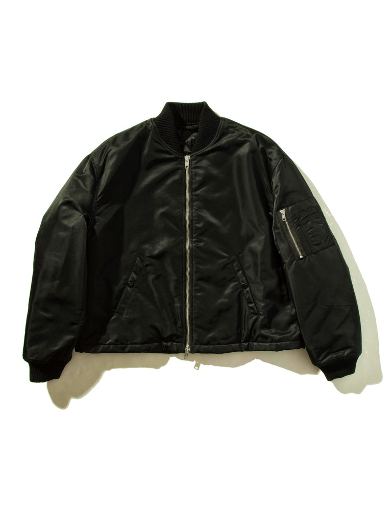 Black Short Bomber 945308411913