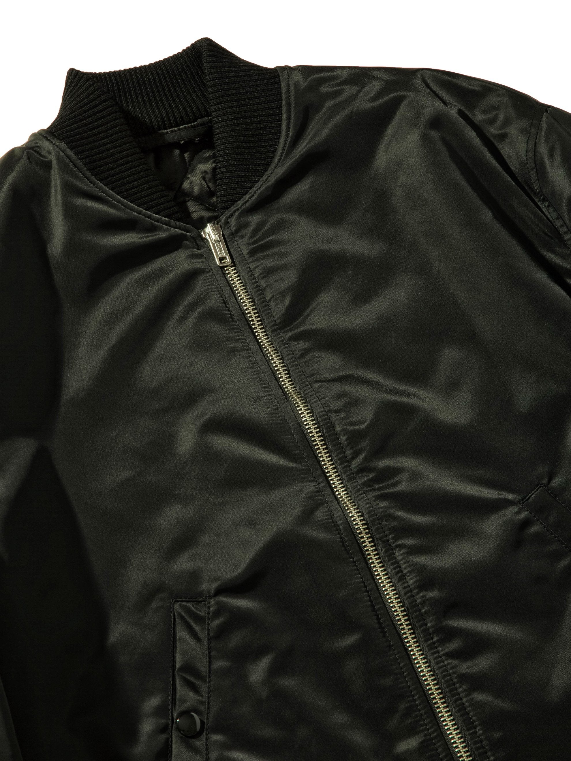 Black Short Bomber 10