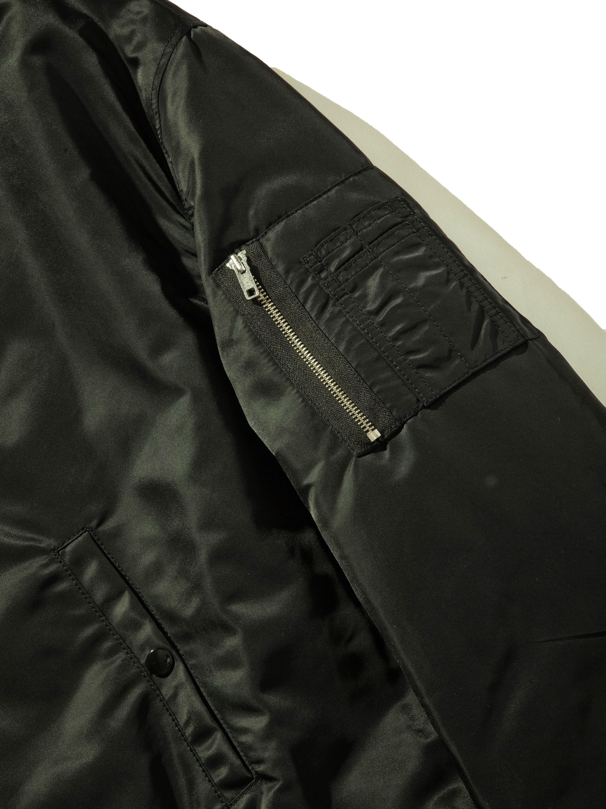 Black Short Bomber 11