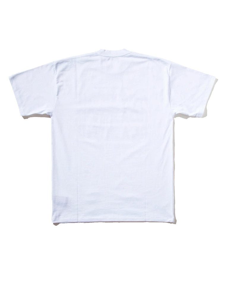 White Thank You T-Shirt (Big Fit) 745298352137