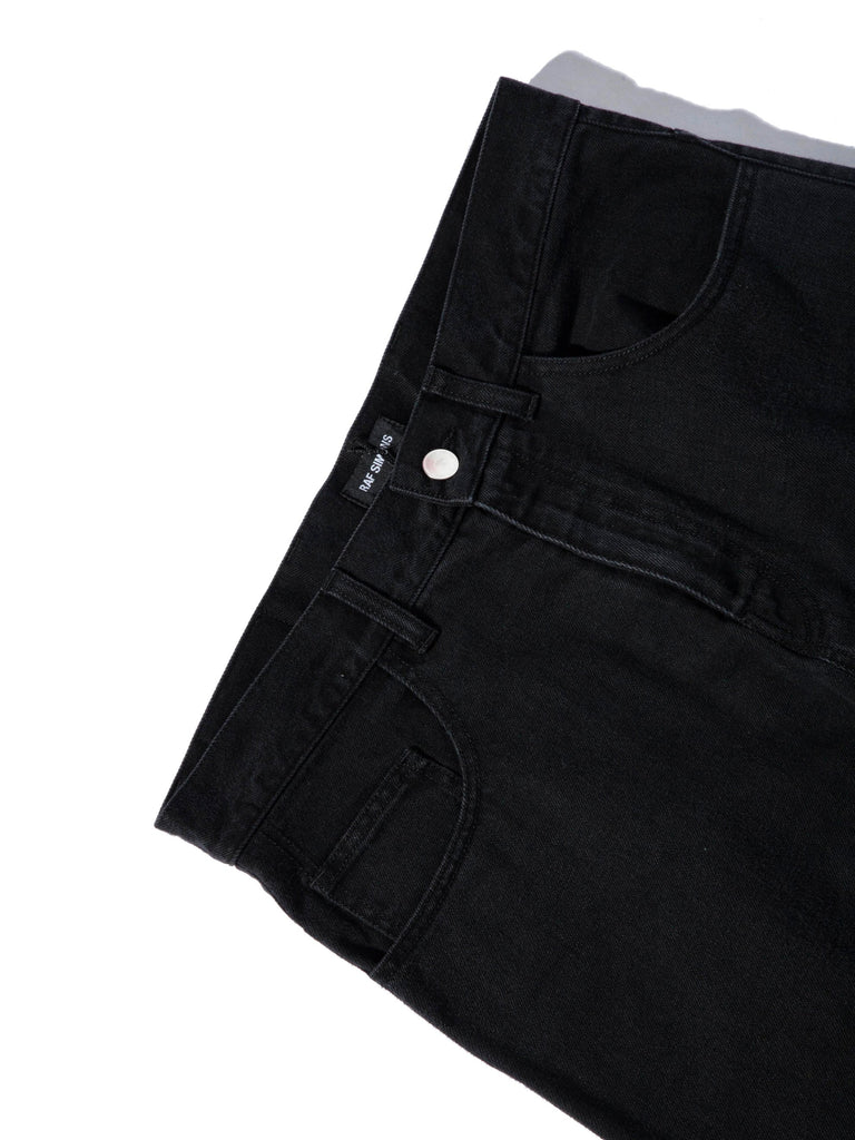 Black Low Crotch Jeans 745292617737