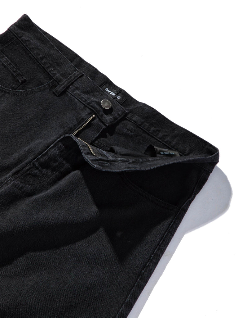 Black Low Crotch Jeans 845292716041