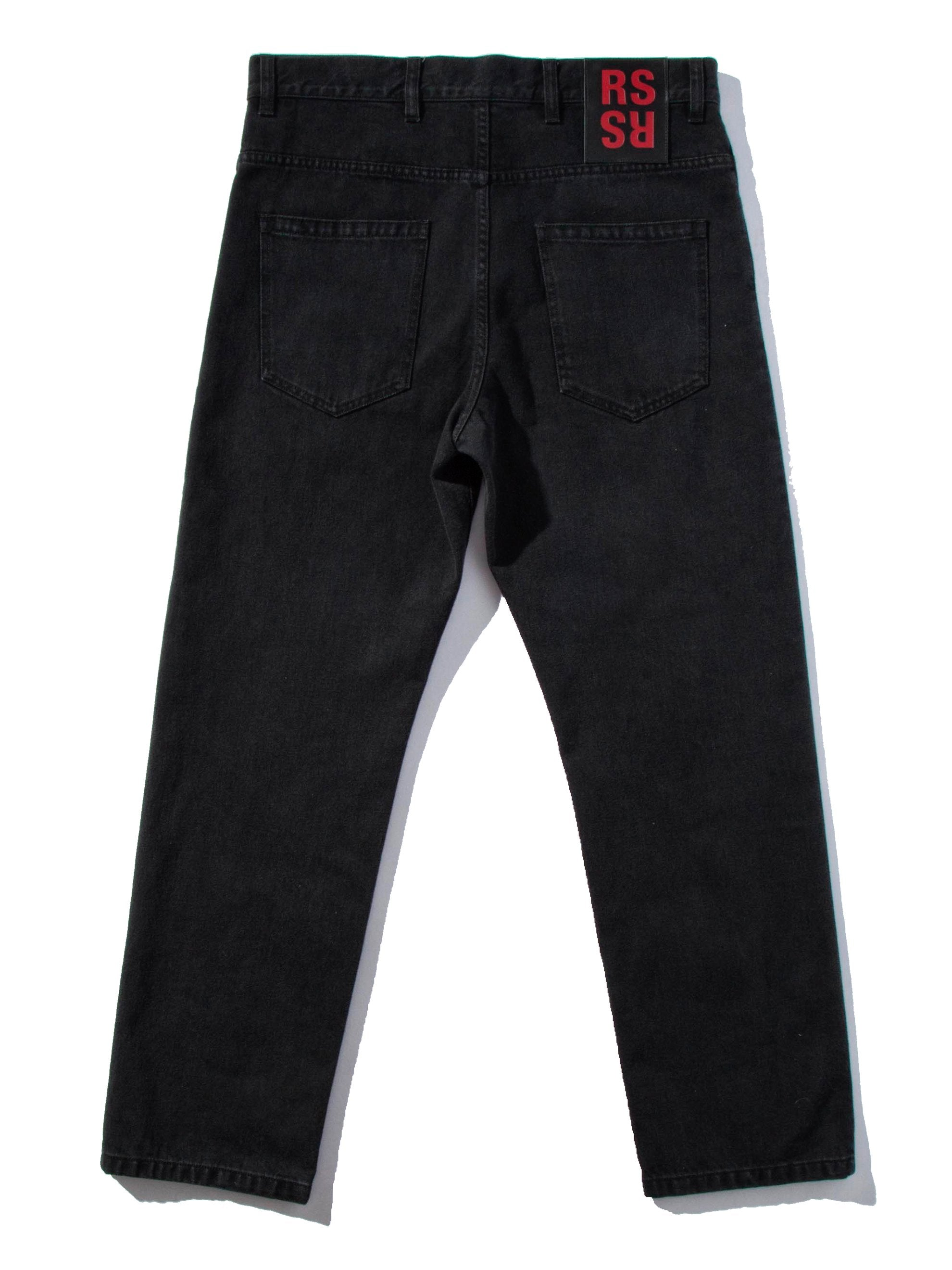 Black Low Crotch Jeans 10