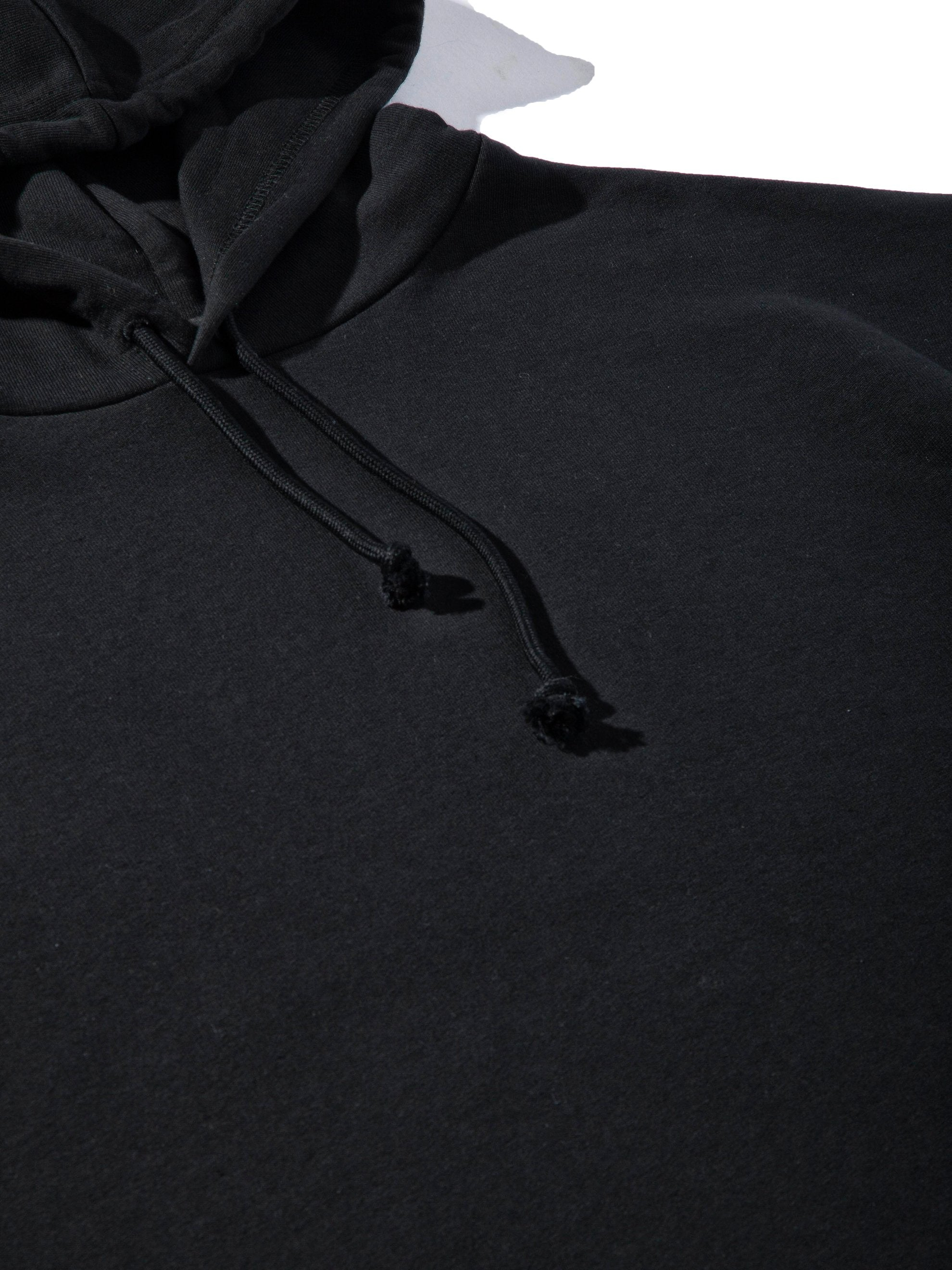 Black Any Way Out Hooded Sweatshirt 9