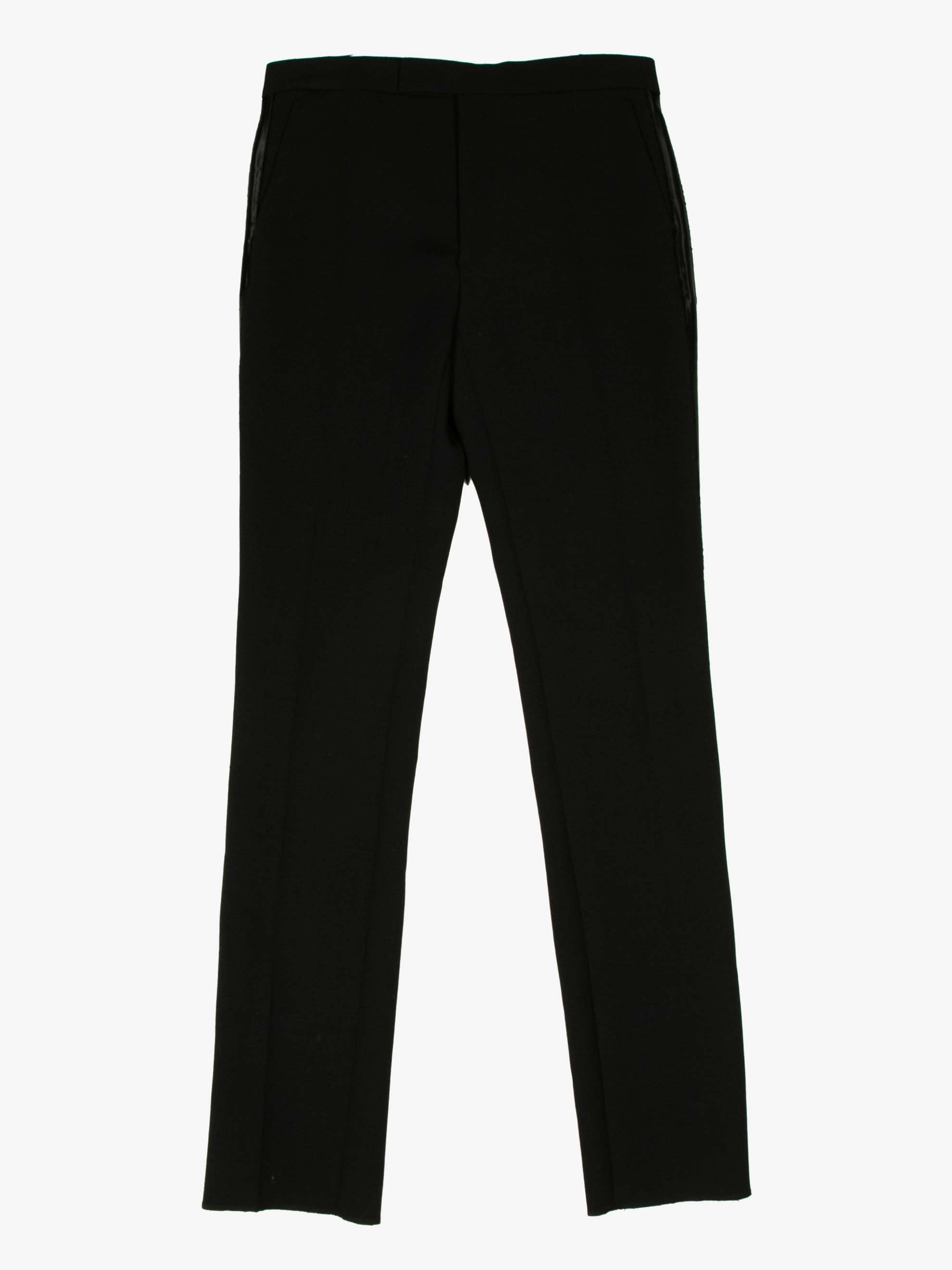 Dark Navy Ceremonial Slim Fit Trouser 1