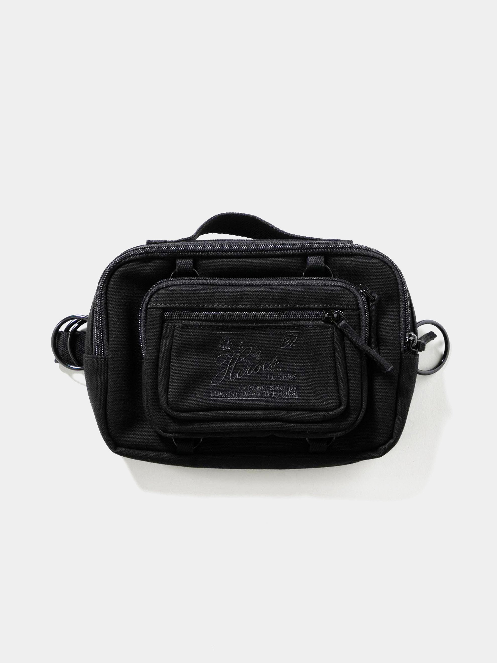 Black RAF Simons x Eastpak RS Waist Bag Loop 1