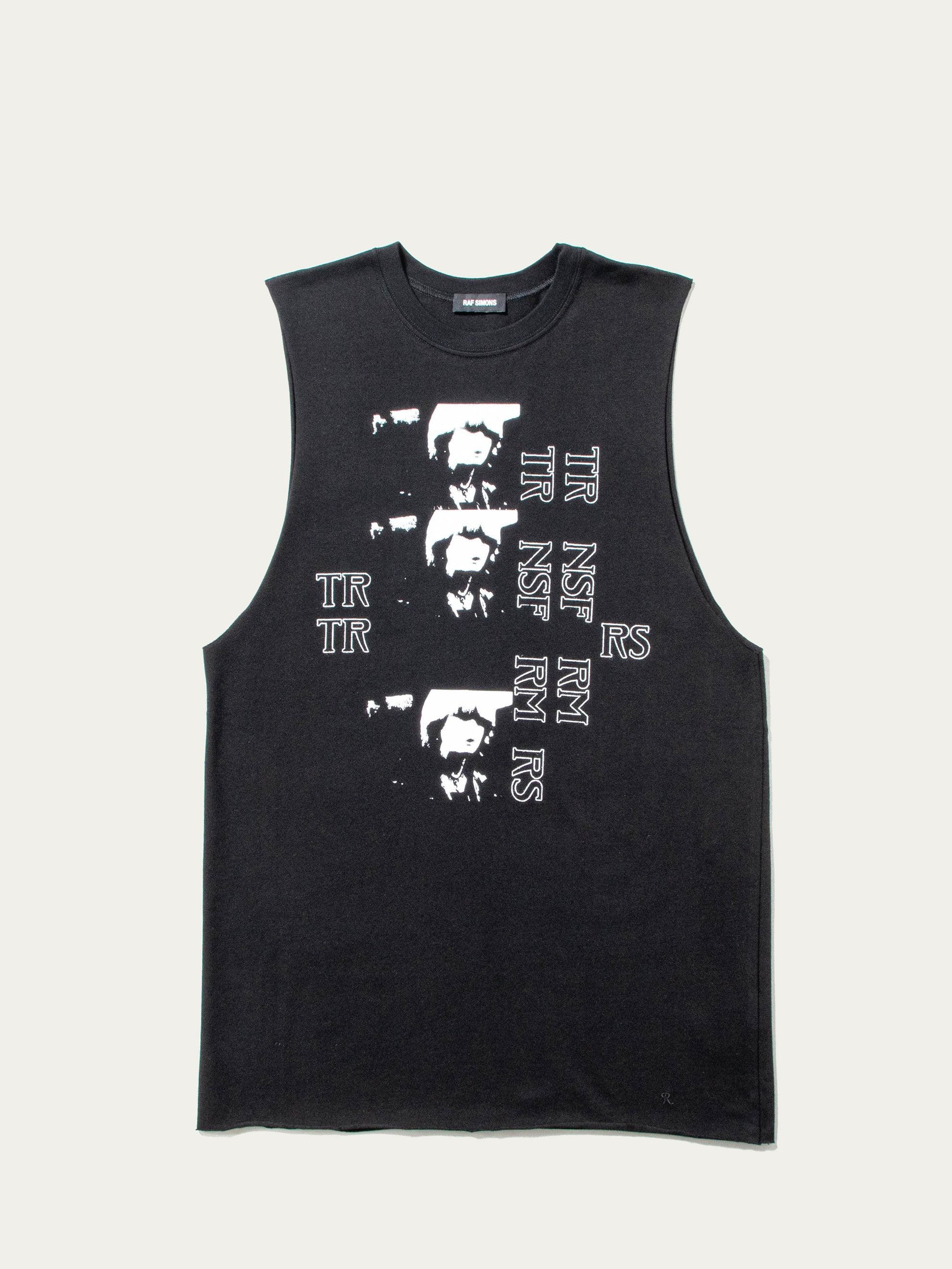 Black Sleeveless Toya Jersey 1