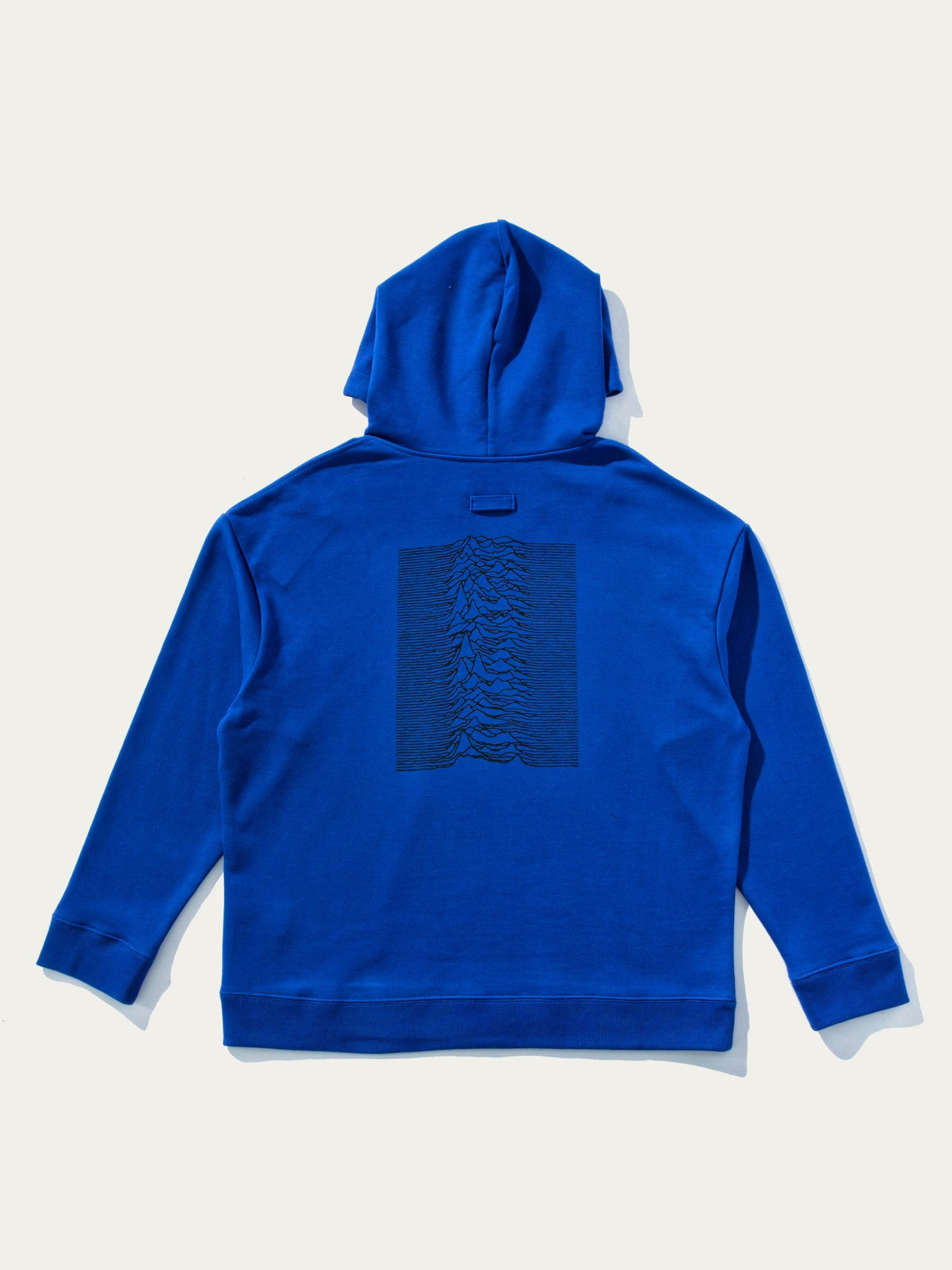 Electric Blue Classic Hoodie 1