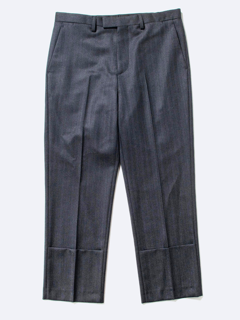 Classic Slim-Fit Turn-Up Pant