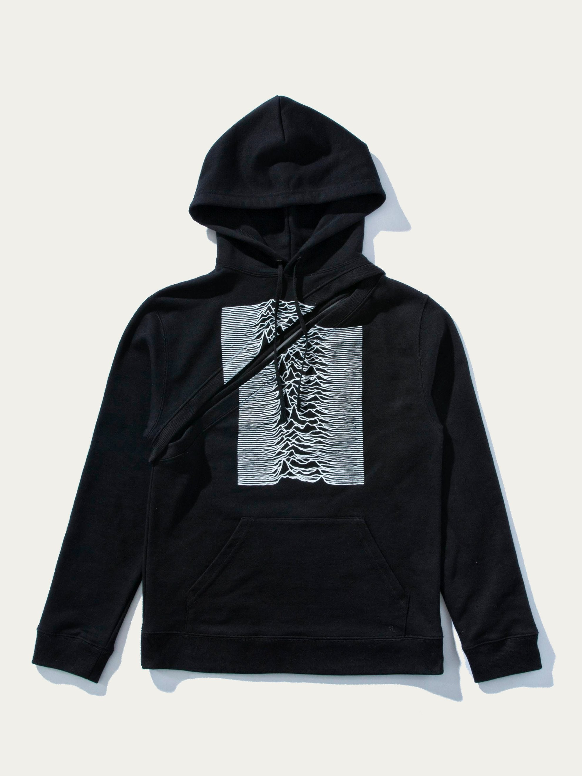 Black Two-Piece Hoodie 1
