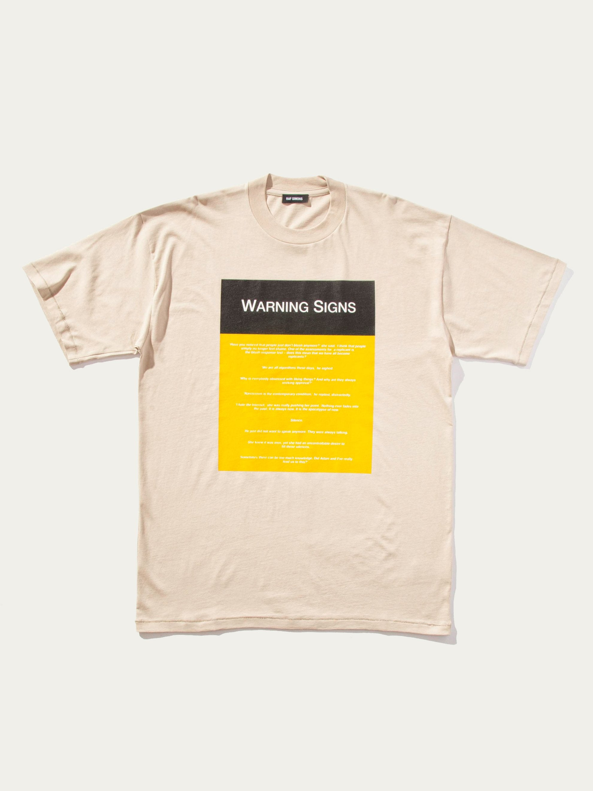 Warning Signs T-Shirt (Big Fit)