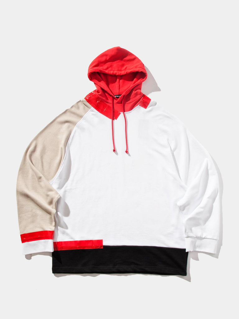 Oversized Hooded Sweatshirt (Tape)