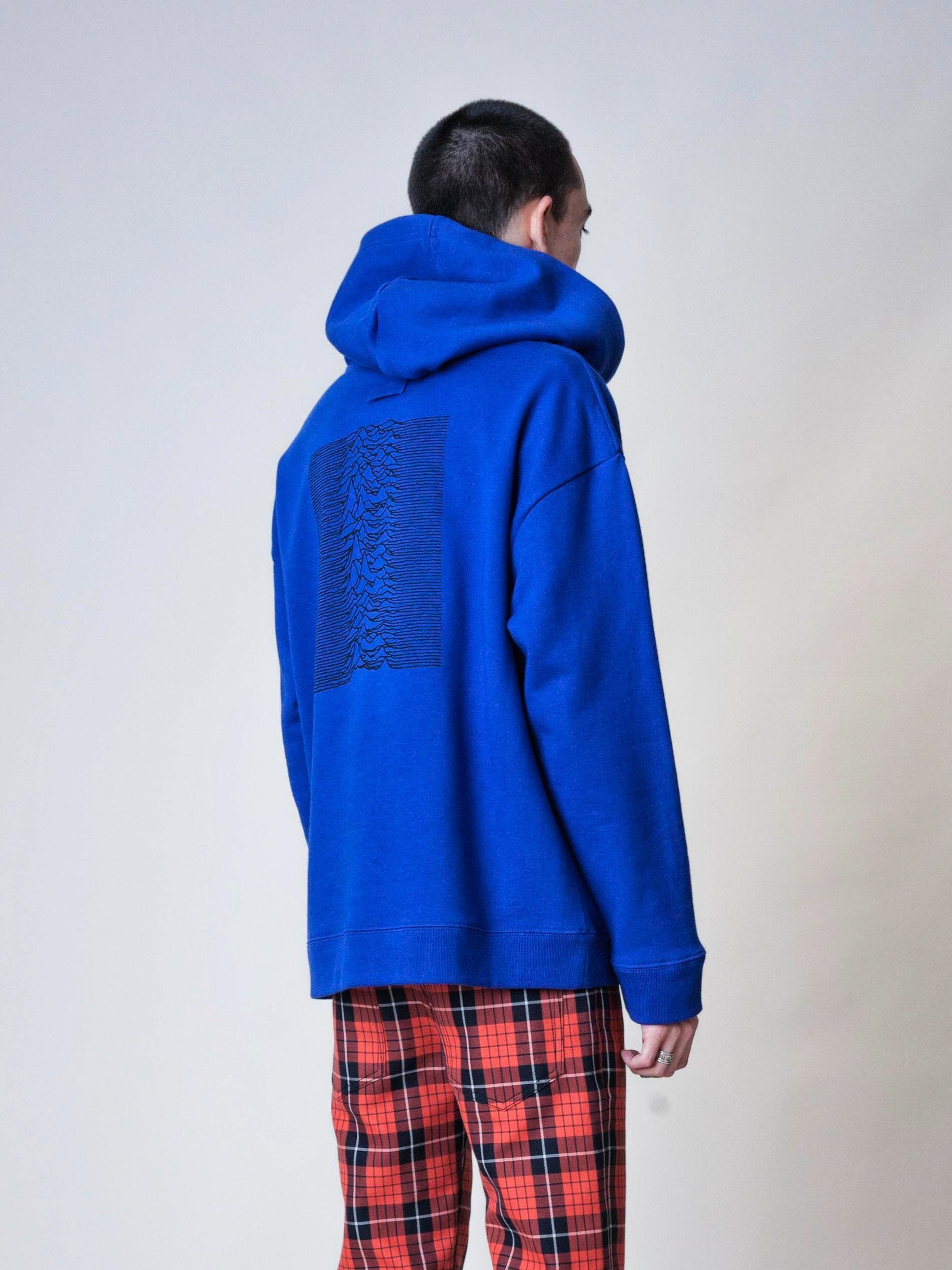Electric Blue Classic Hoodie 5