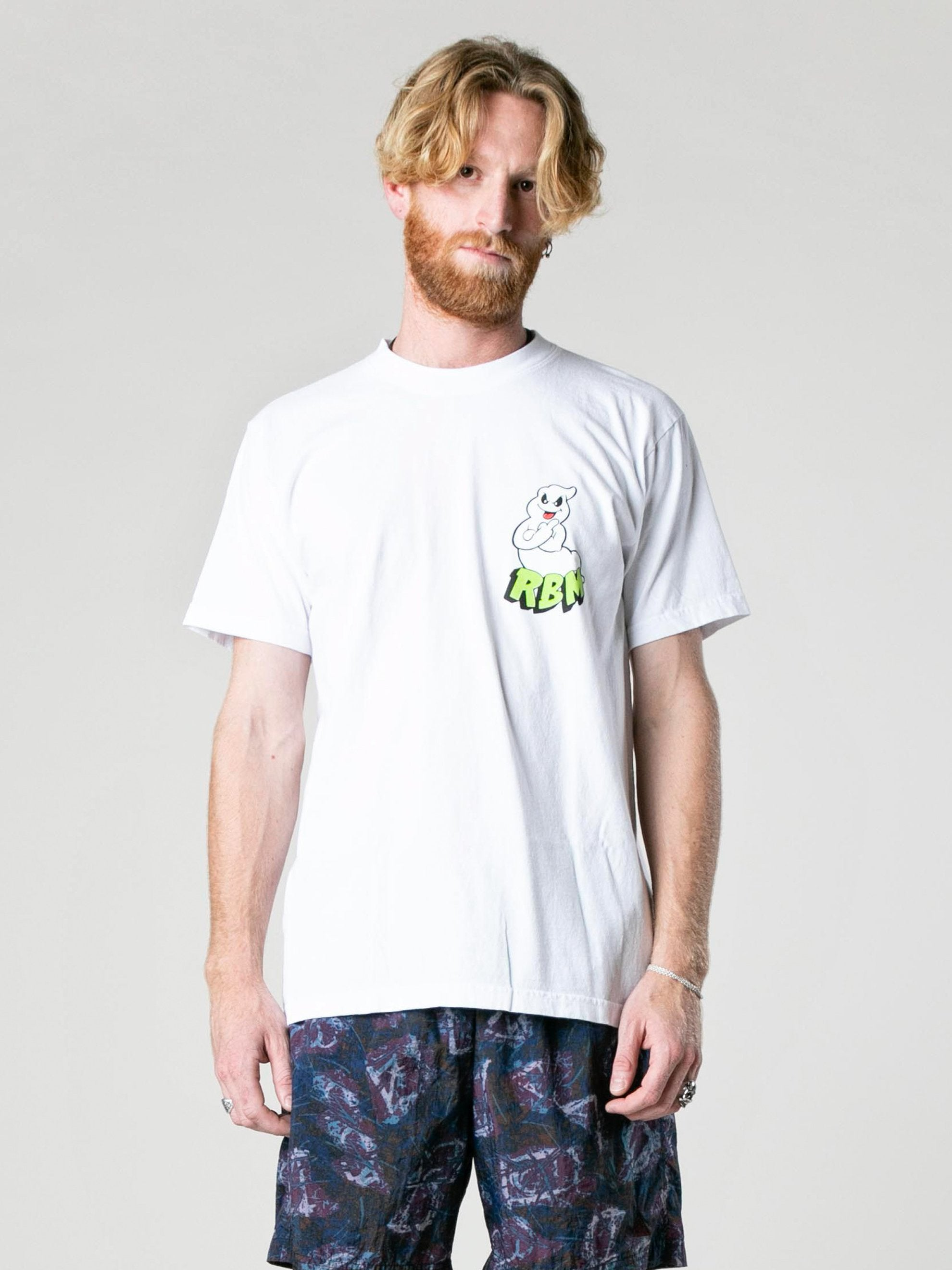 White F U Ghost T-Shirt 2