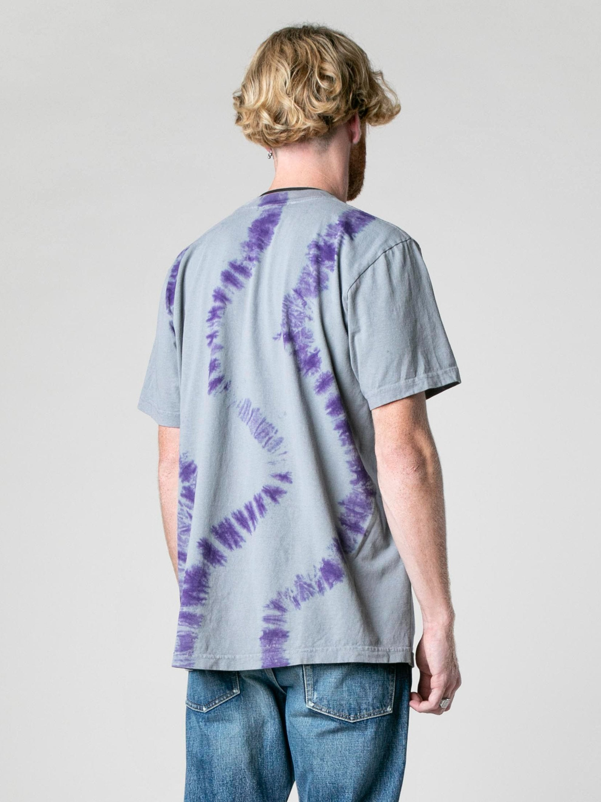 Grey Mary With The Watches Tye-Dye T-Shirt 5