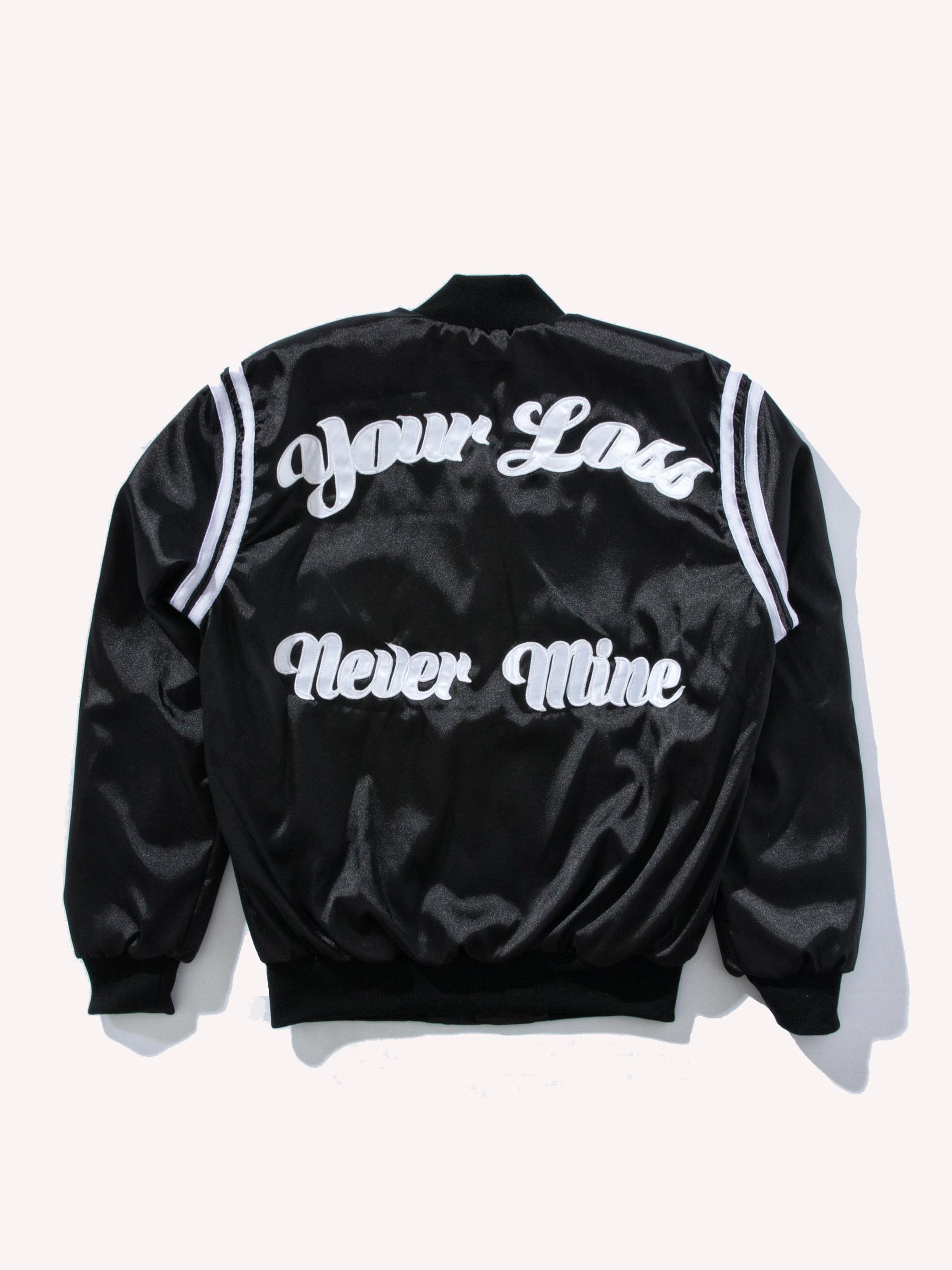 Your Loss Never Mine Satin Jacket