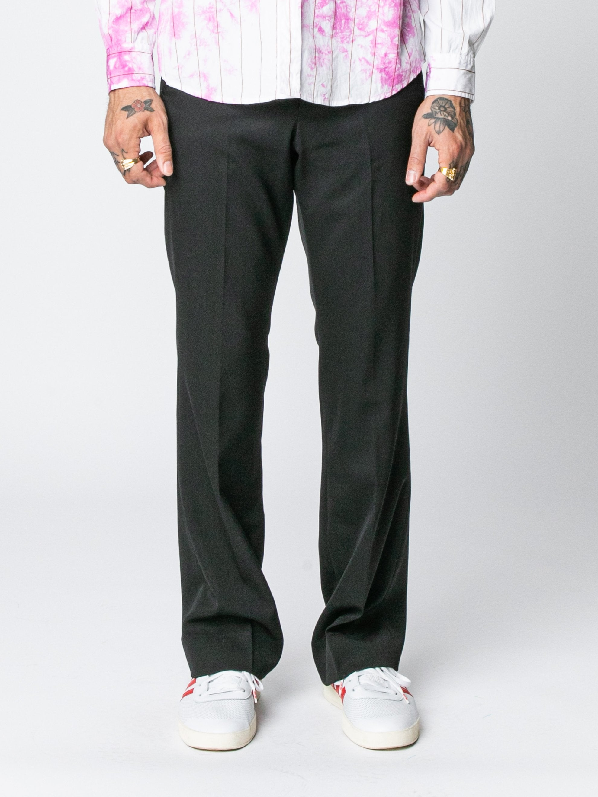 Black Rex Flared Trouser 3