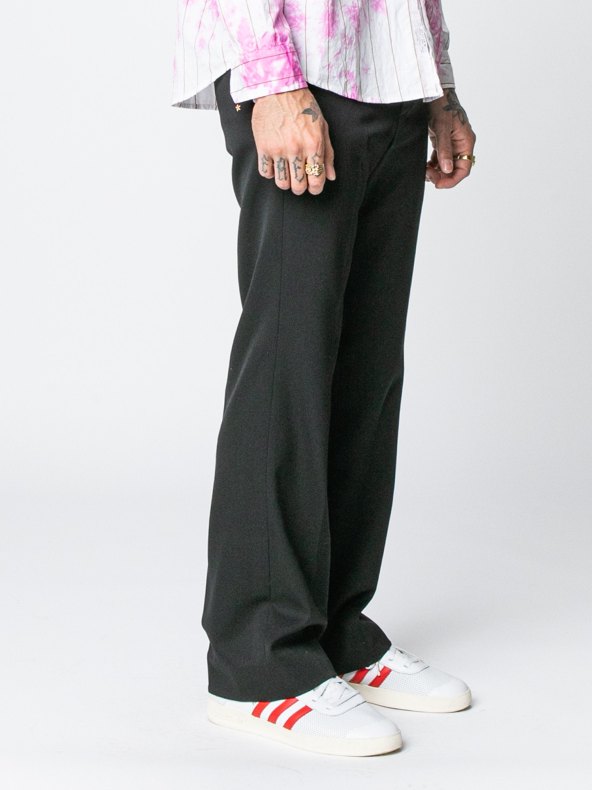Black Rex Flared Trouser 4