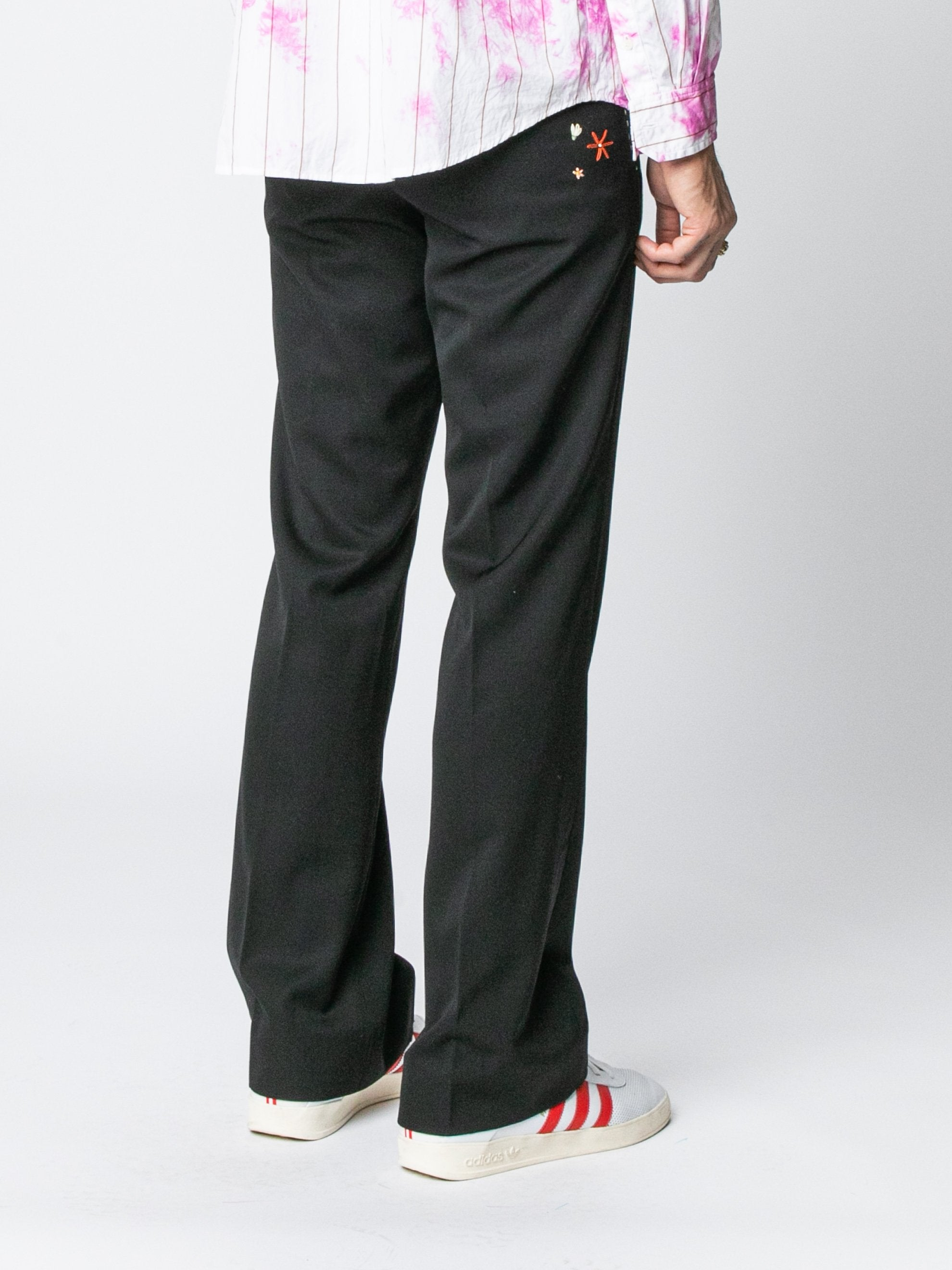 Black Rex Flared Trouser 5