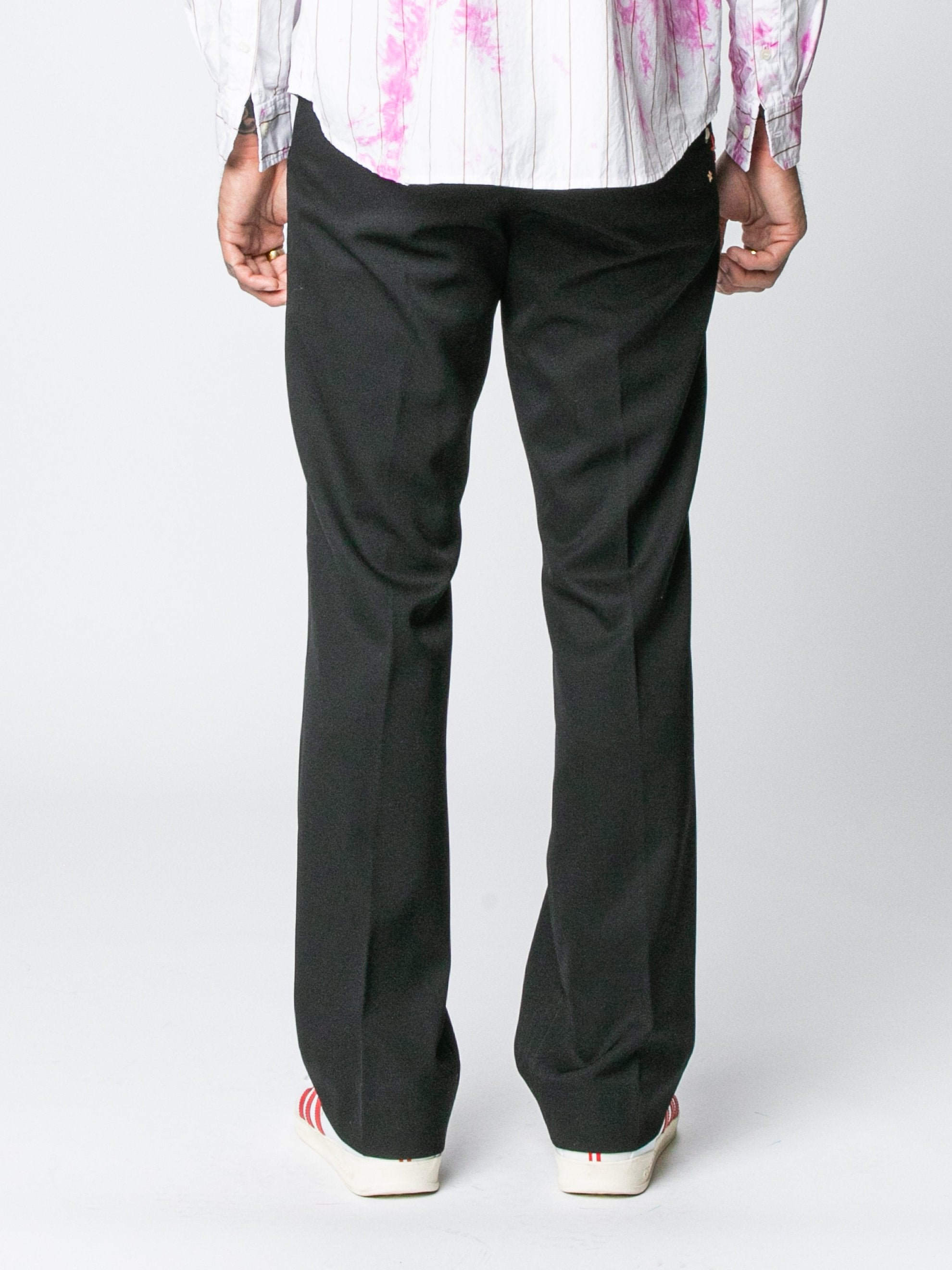 Black Rex Flared Trouser 6