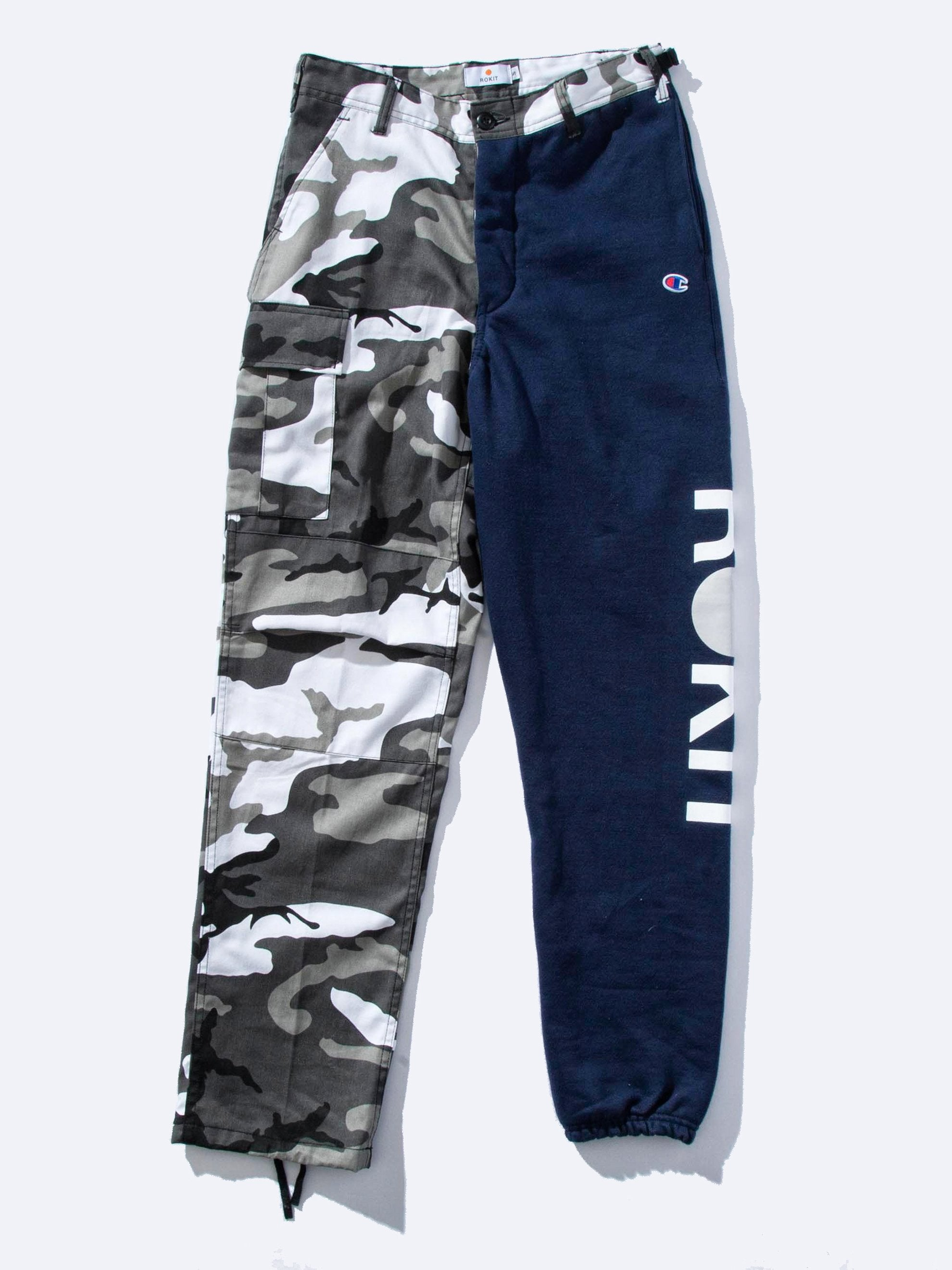 Navy The Civilian Two-Tone Pant 1