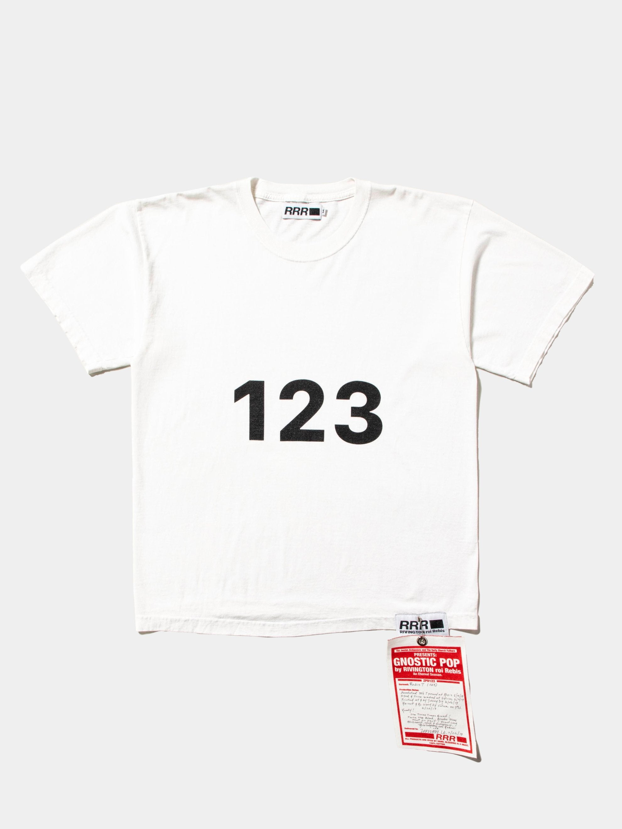 White Rebis T-Shirt (1 2 3) 1
