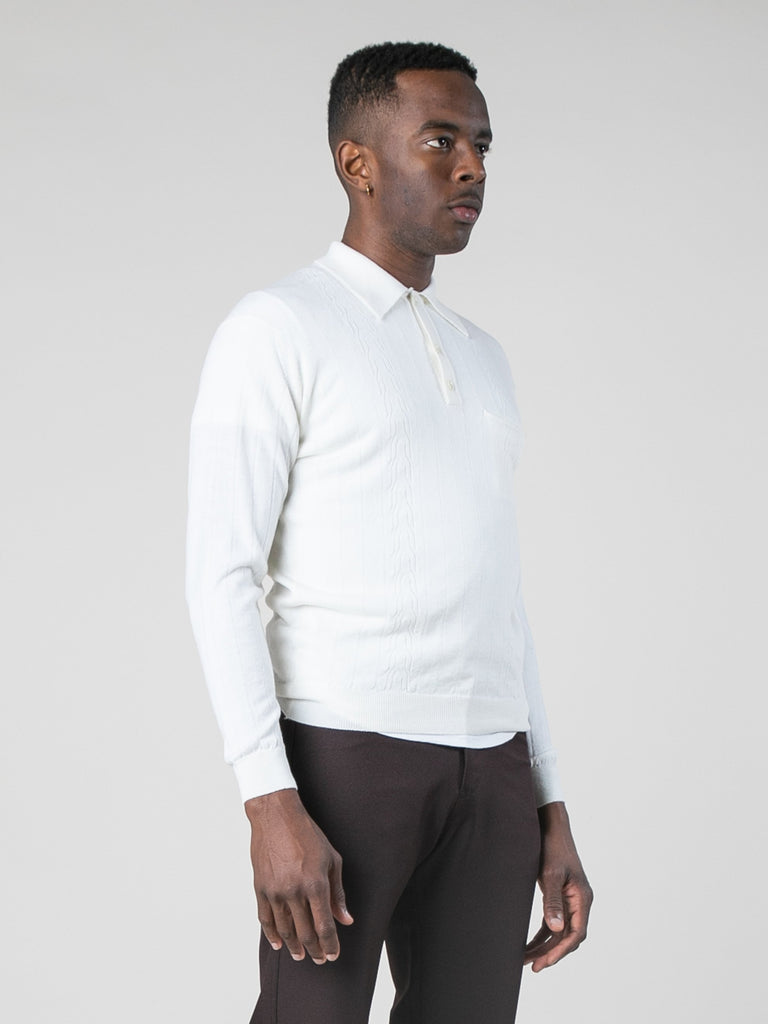 Blanc Polo Sweater 413801603301453