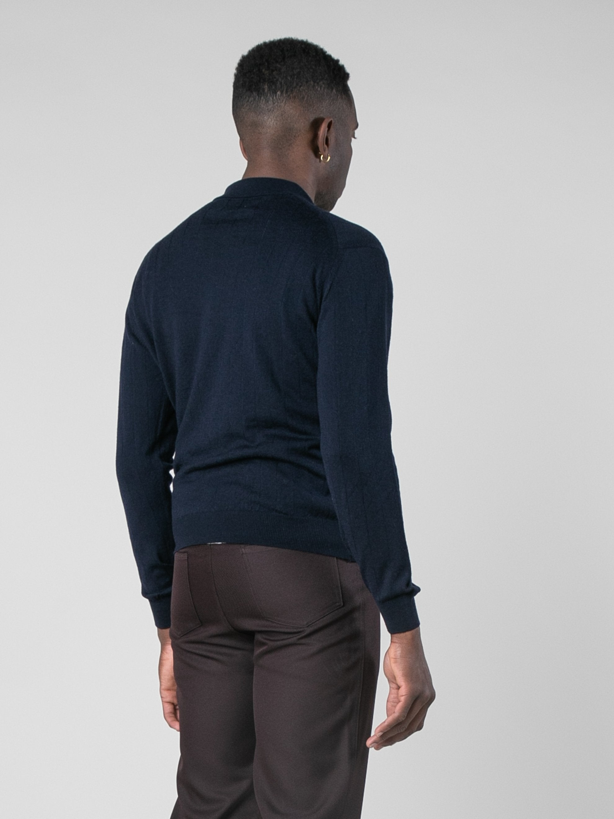 Midnight Polo Sweater 5