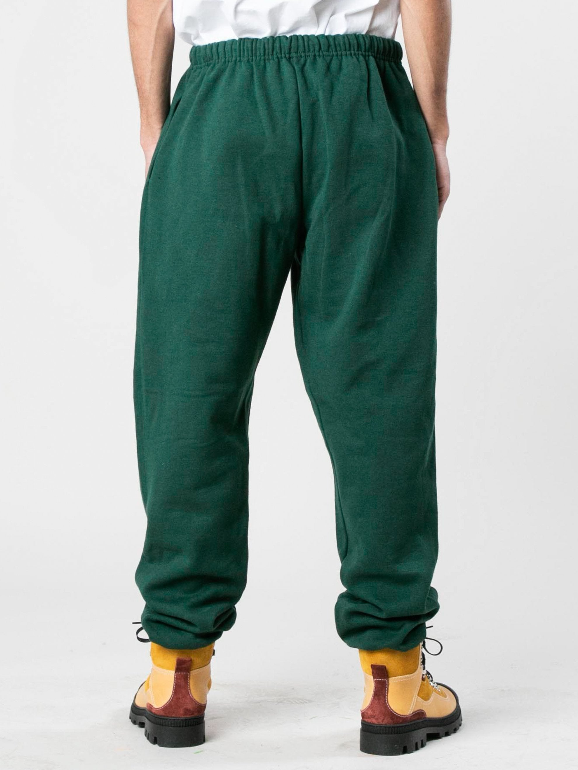 Green Caterpillar Puff Print Sweatpants 5