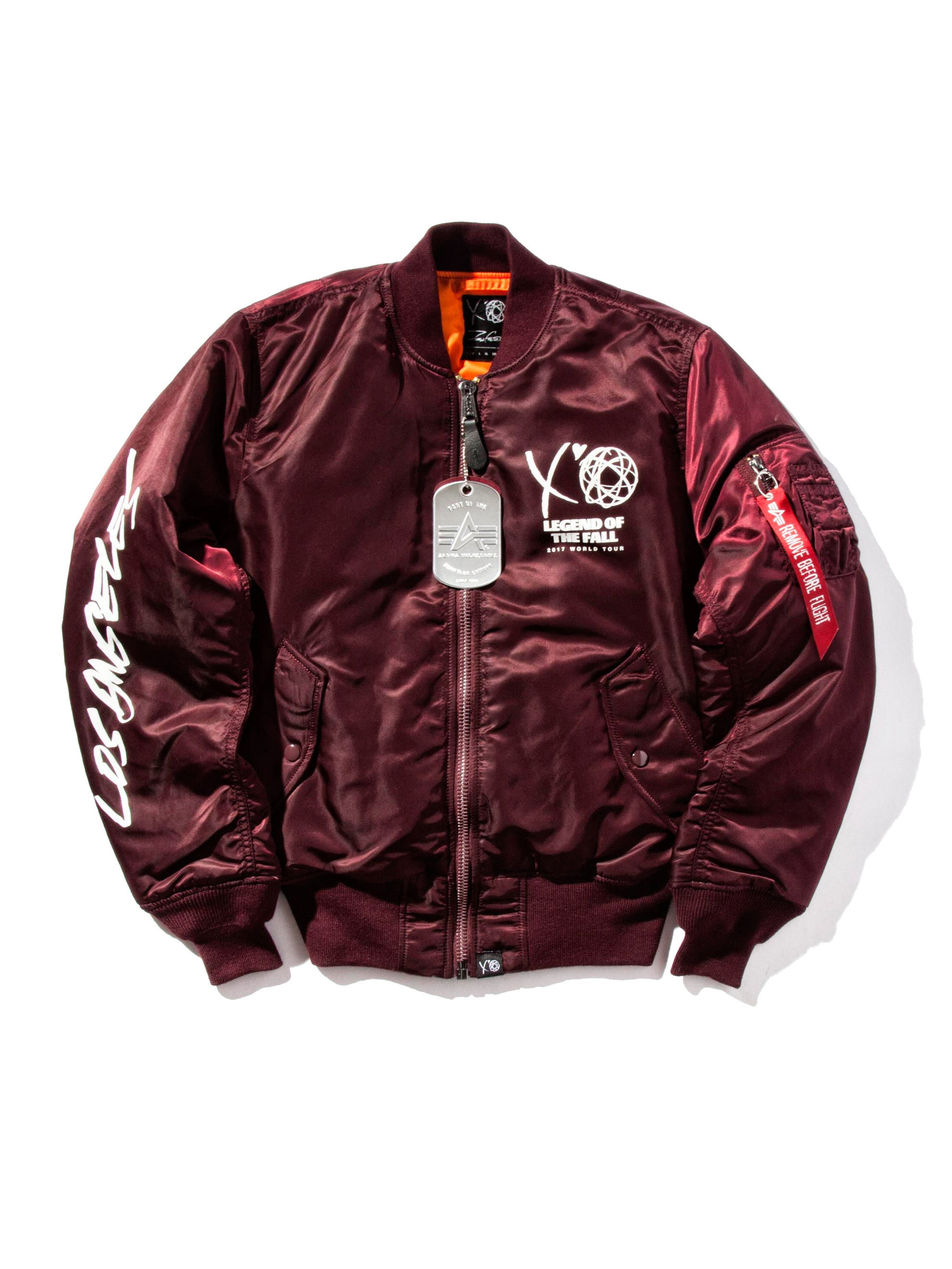 Maroon Bomber (LA Exclusive) 2