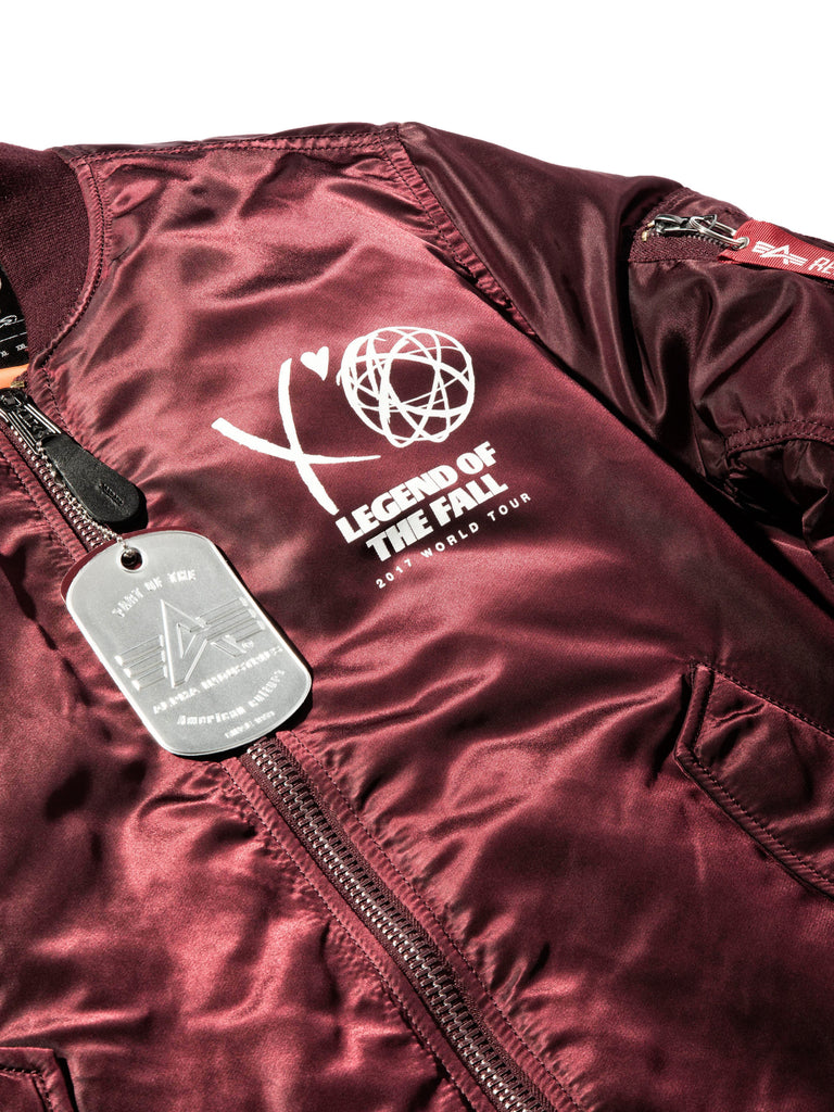 Maroon Bomber (LA Exclusive) 420181329929