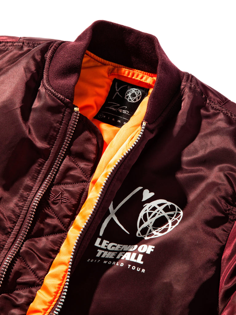 Maroon Bomber (LA Exclusive) 620181332681