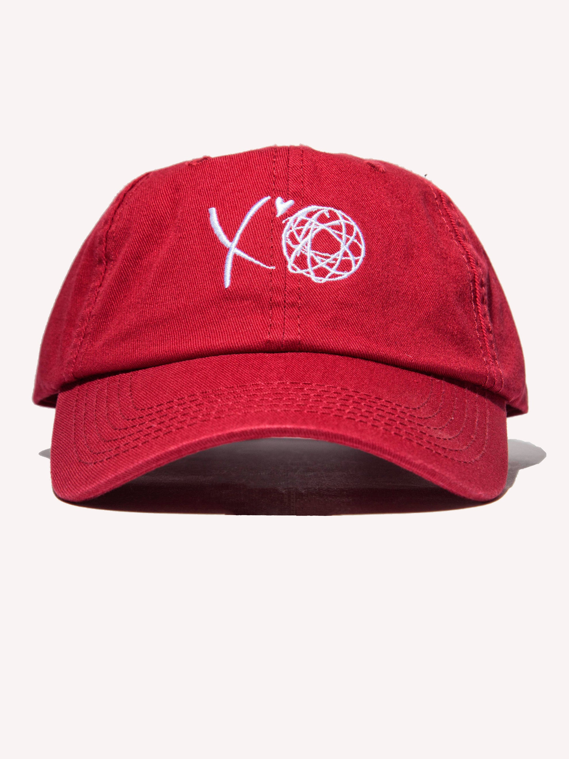 Maroon XO Cap (LA Exclusive) 1