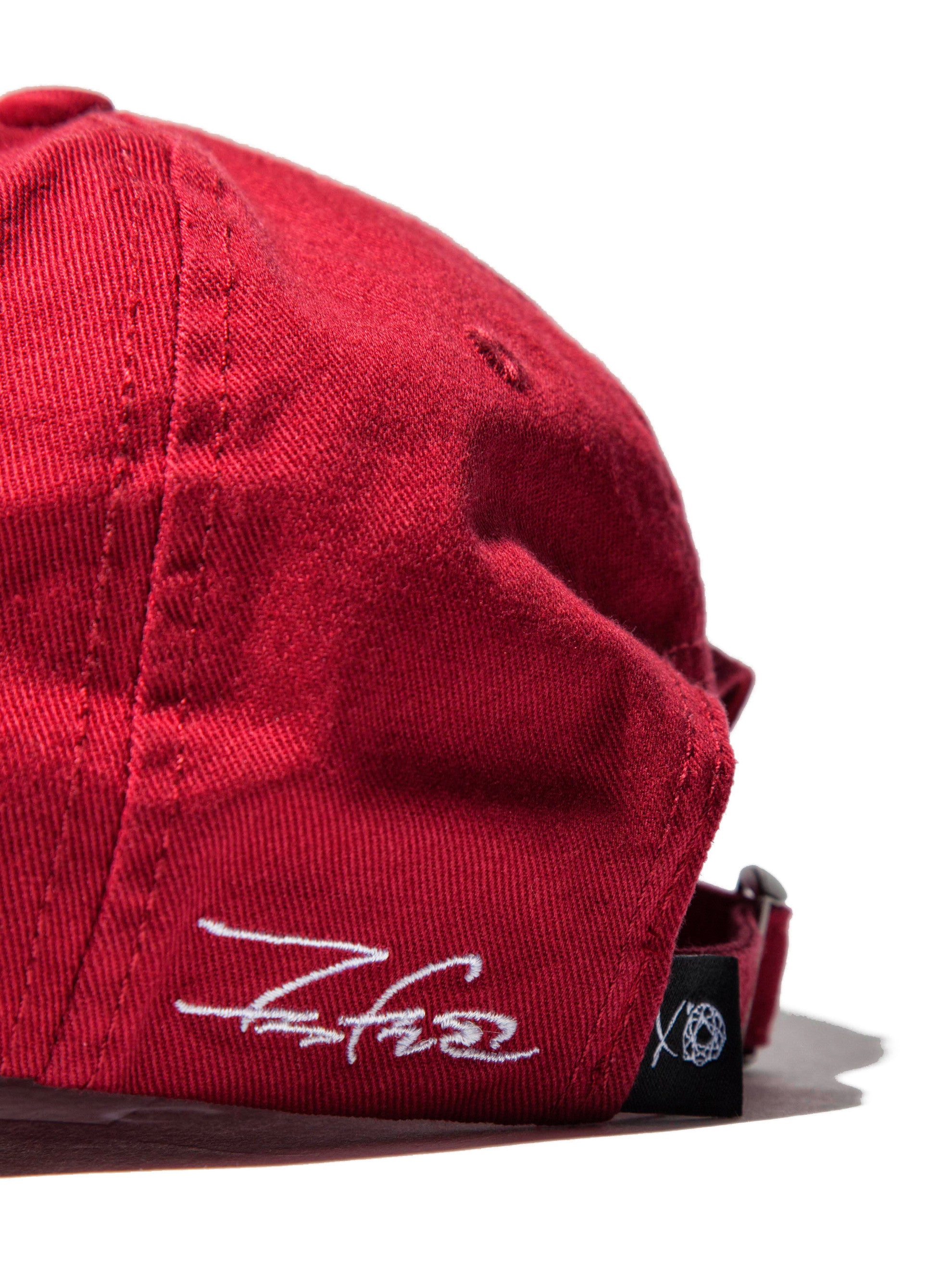 Maroon XO Cap (LA Exclusive) 4