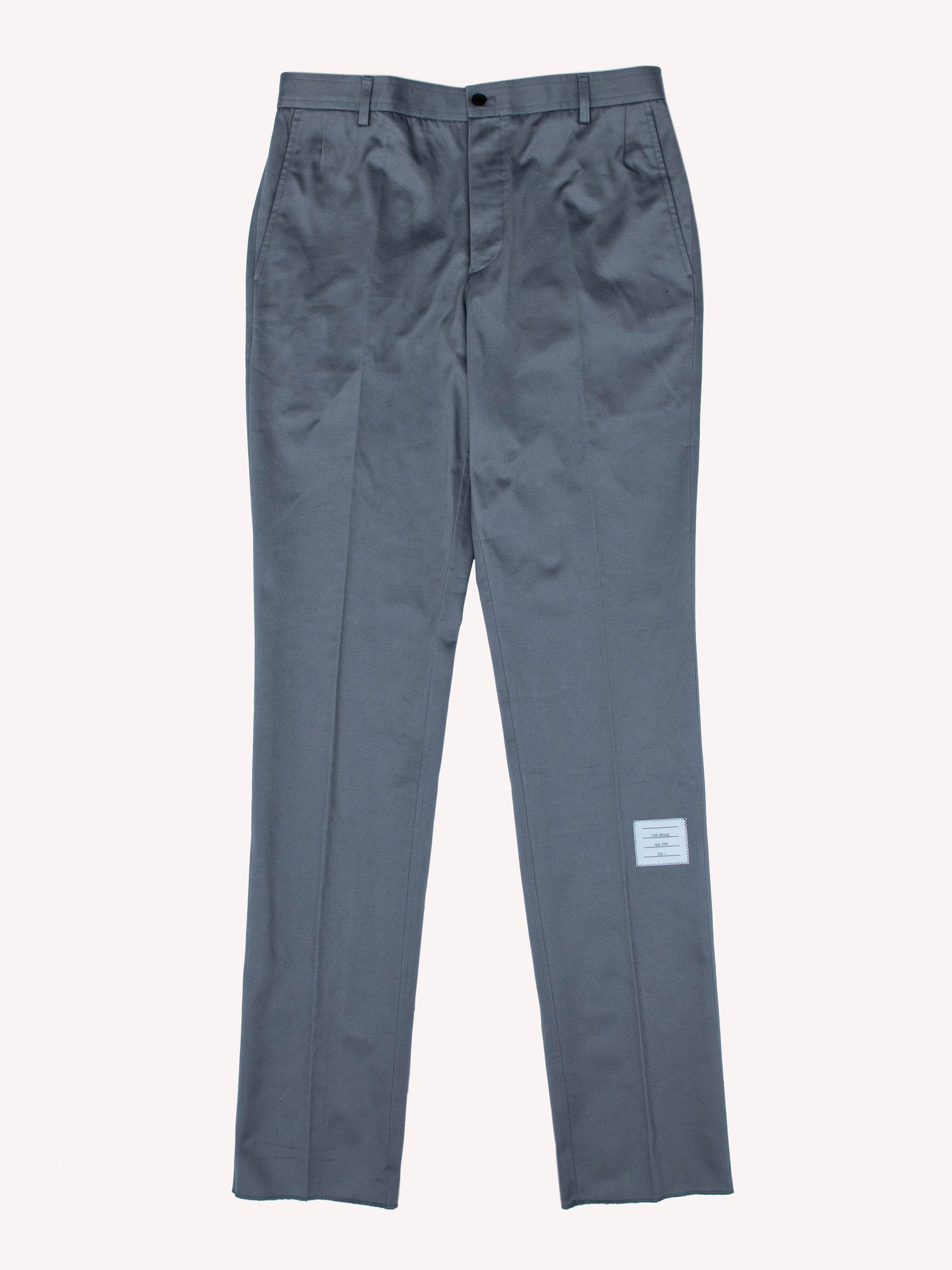 Cotton Twill Unconstructed Chino Trouser