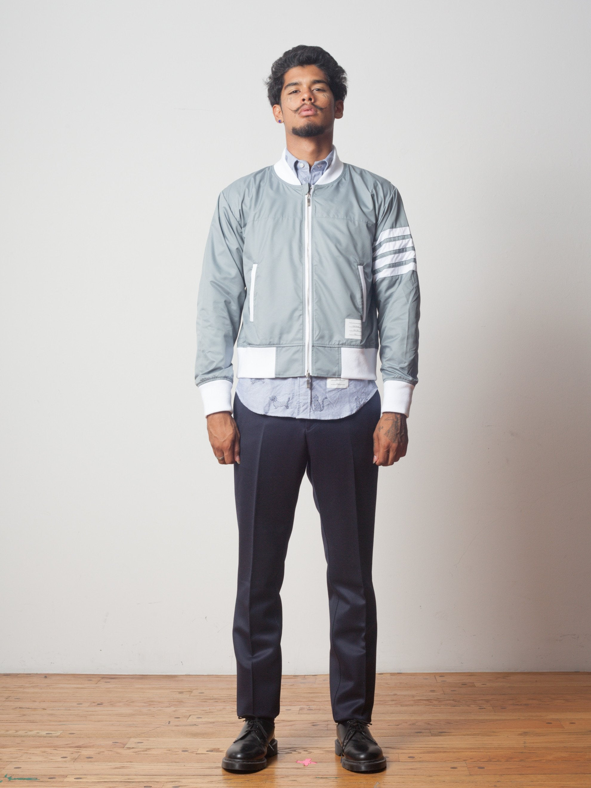Bomber (Ripstop/Seamed 4 Bar Stripe)