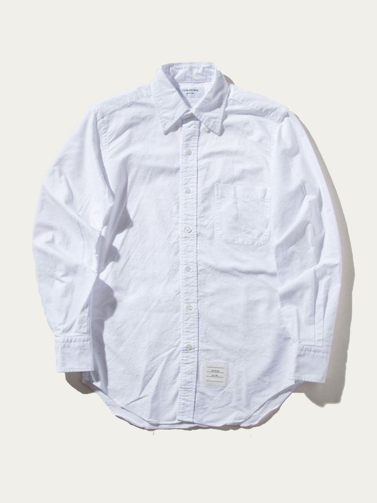 Classic Long Sleeve B.D. Point Collar (Engineered RWB Placket)