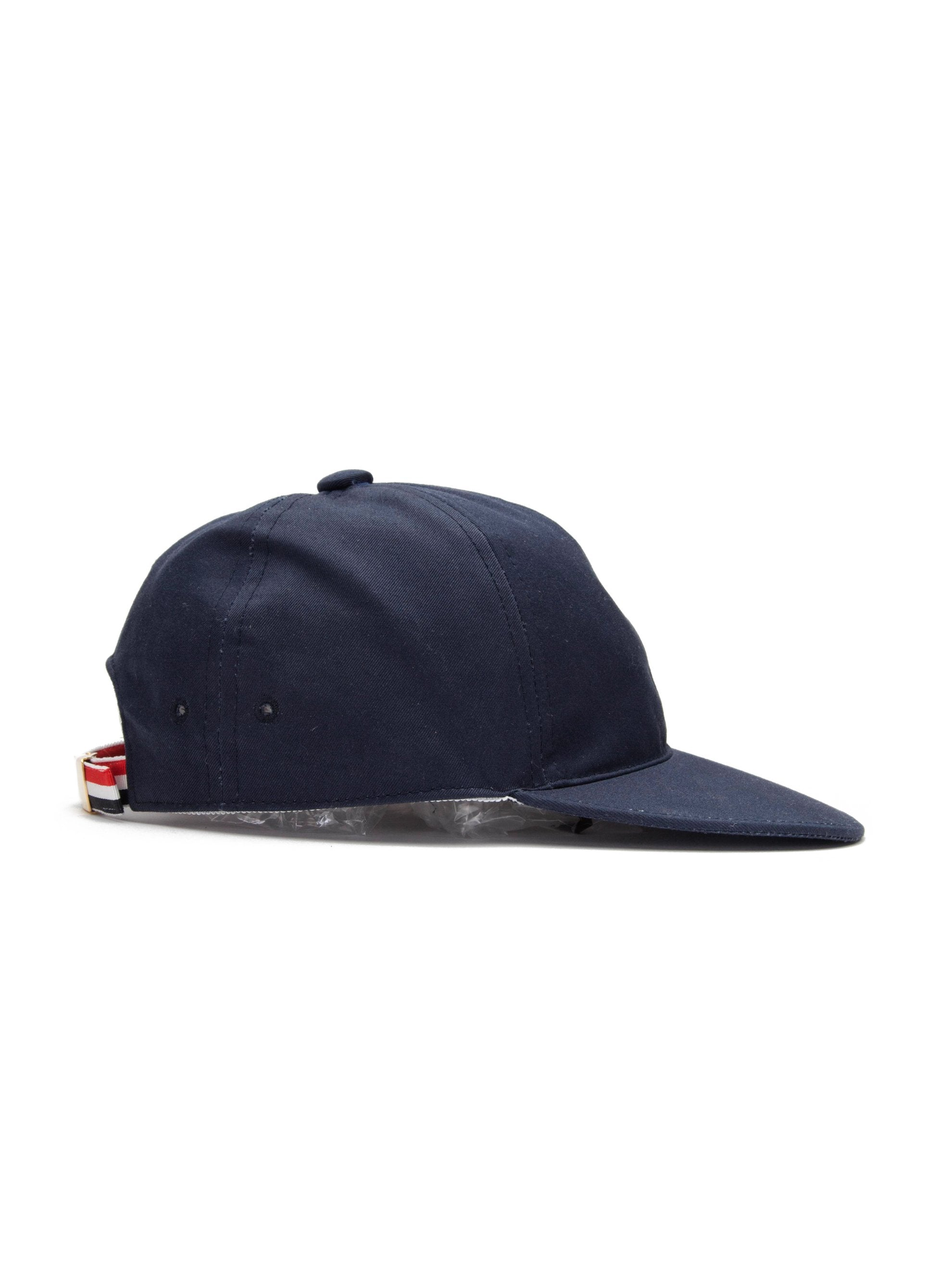 Navy 6-Panel Baseball Cap (RWB Seam Tape/Cotton Twill) 2