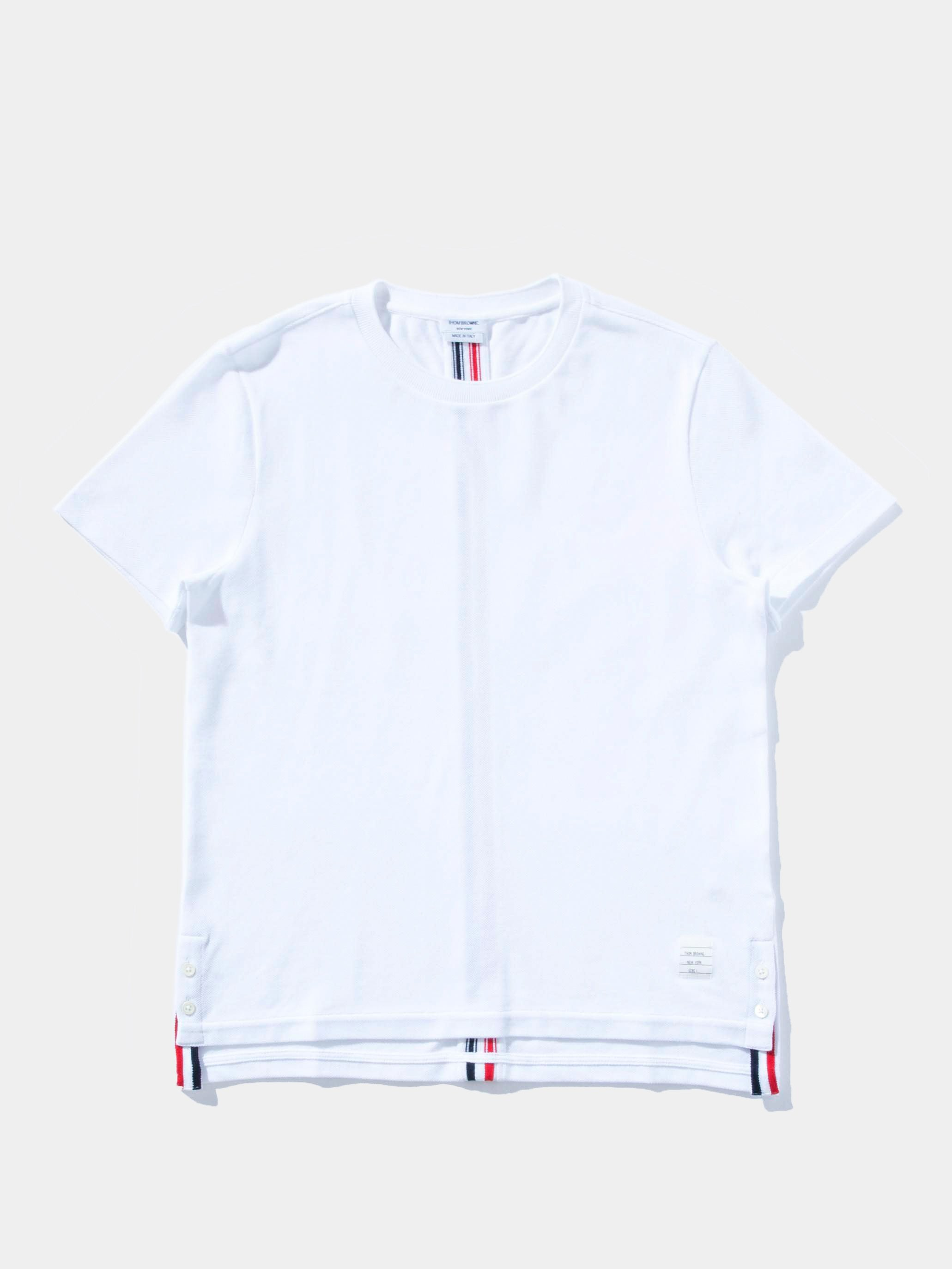 White Relaxed Fit S/S Tee 1