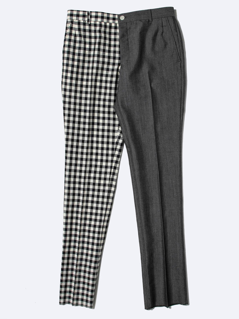 Unconstructed Funmix Gingham Check Chino