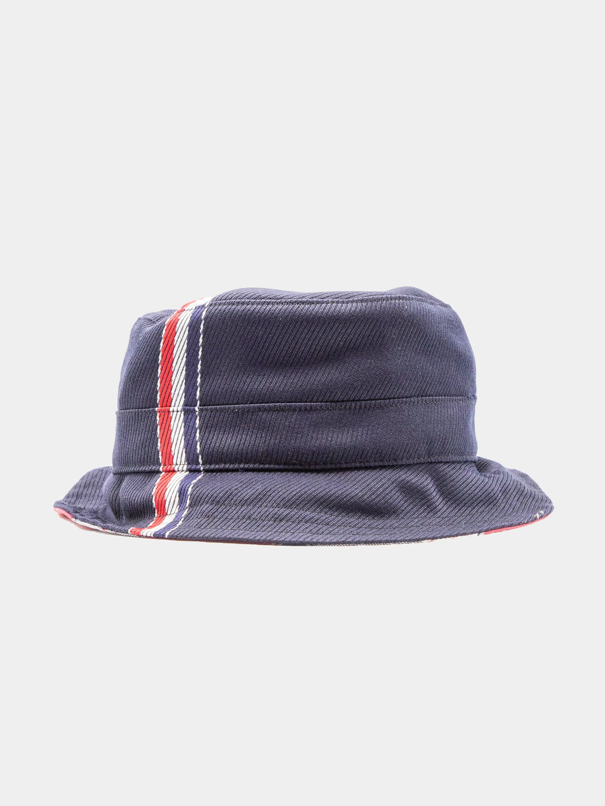 Navy Bucket Hat W/ Lining In Funmix In School Uniform Twill 1