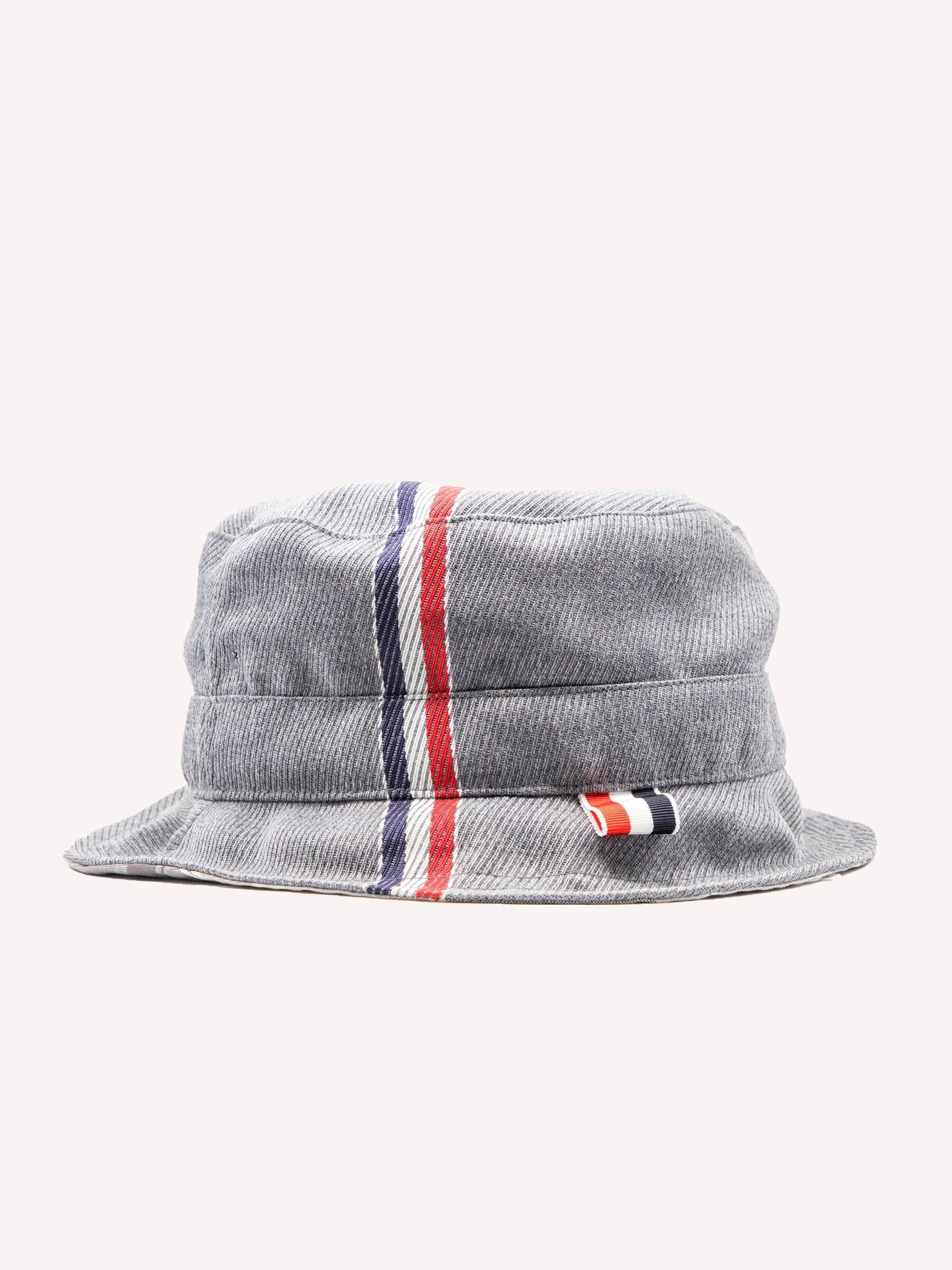 Med Grey Bucket Hat W/ Lining In Funmix In School Uniform Twill 2