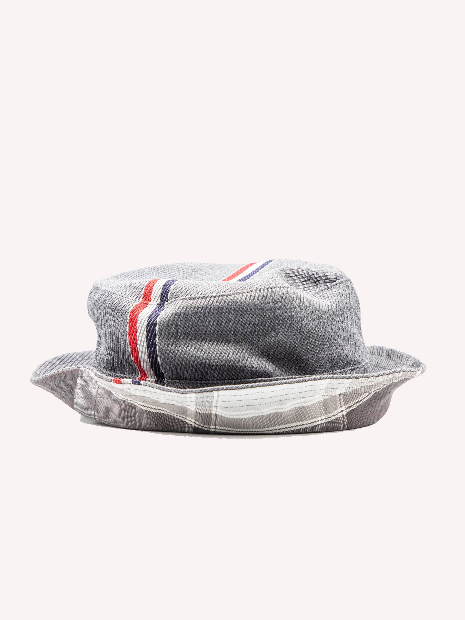 Med Grey Bucket Hat W/ Lining In Funmix In School Uniform Twill 3
