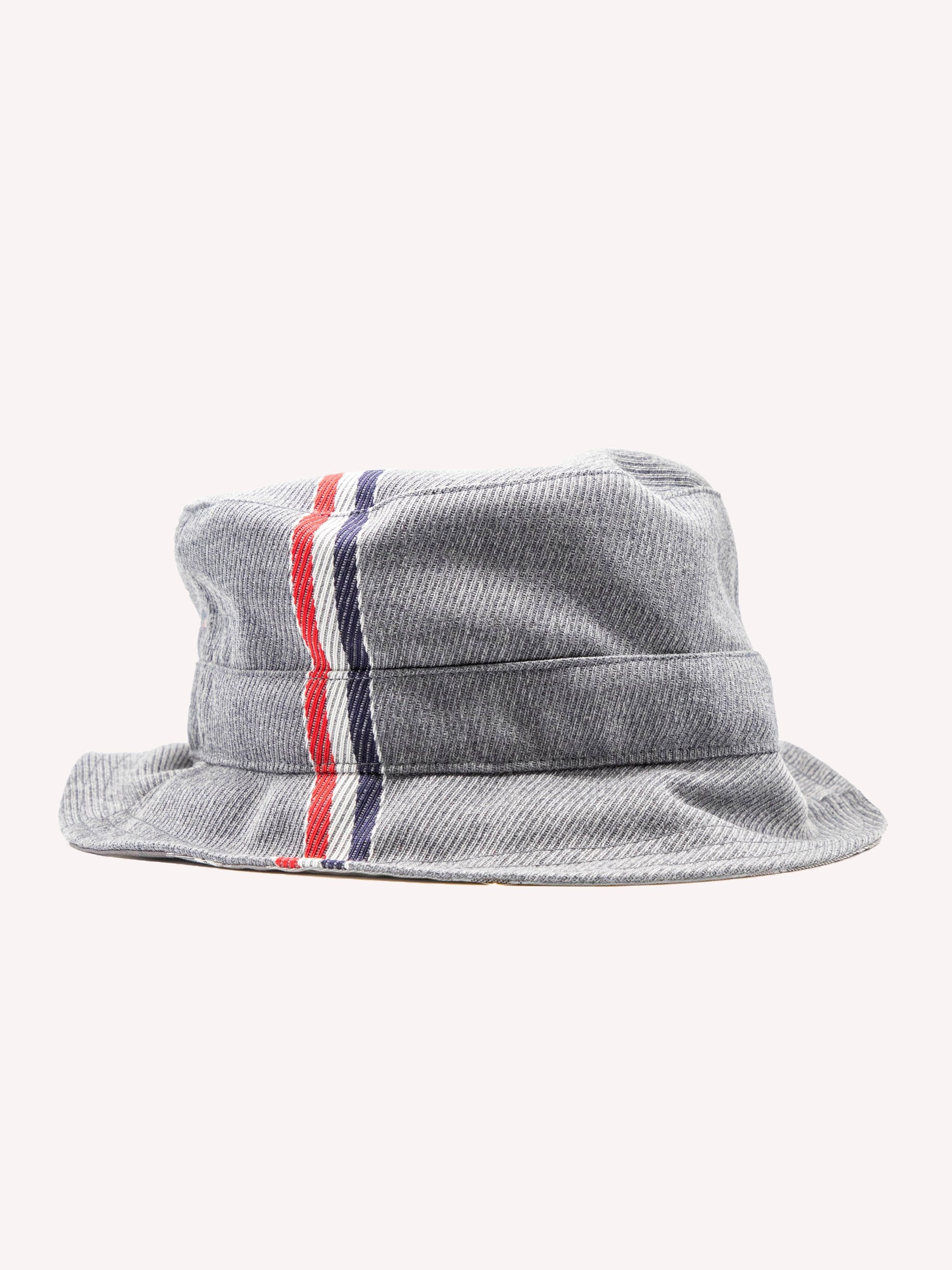 Med Grey Bucket Hat W/ Lining In Funmix In School Uniform Twill 1