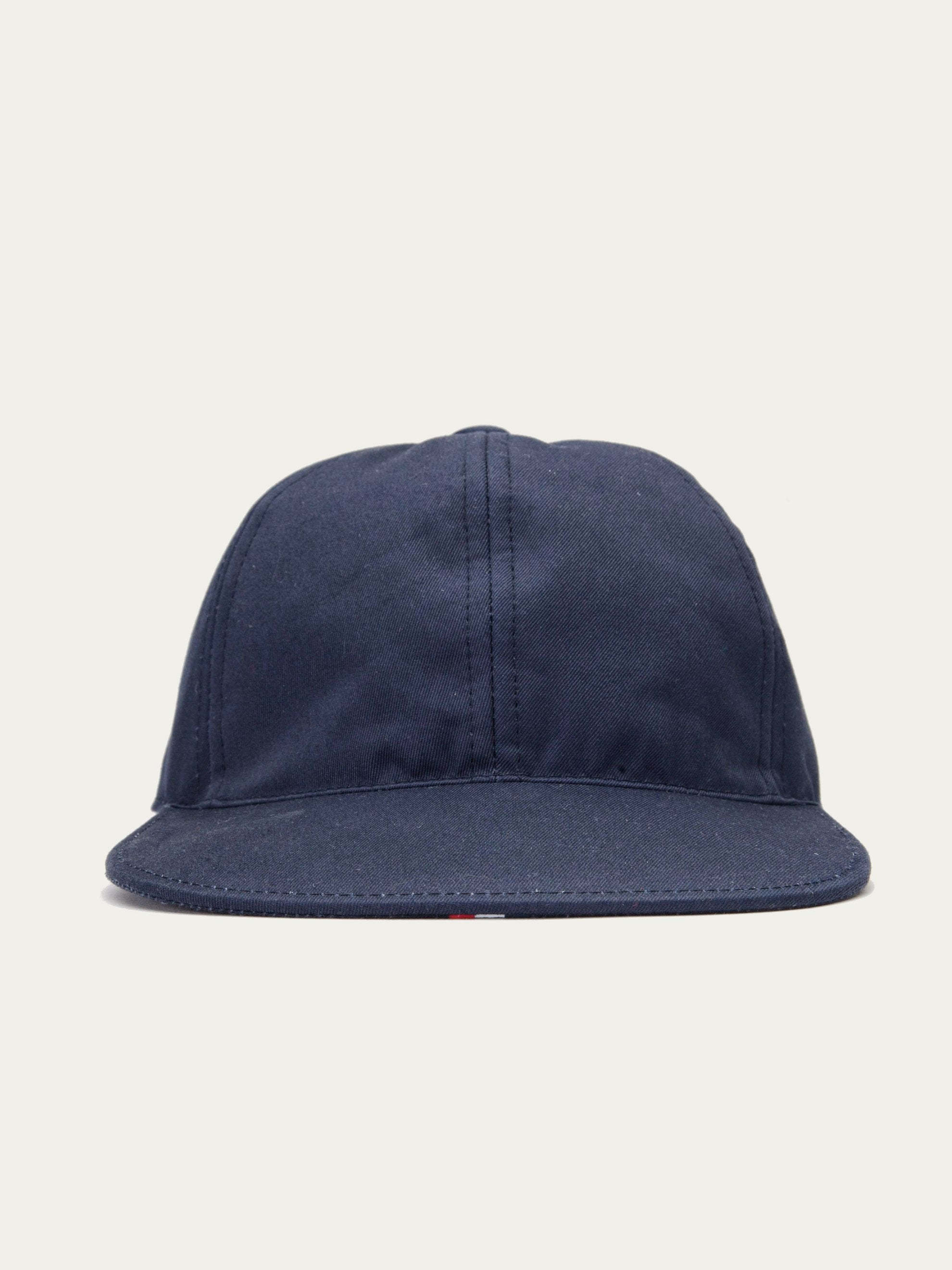 Med. Grey 6-Panel Baseball Cap (RWB Seam Tape/Cotton Twill) 1