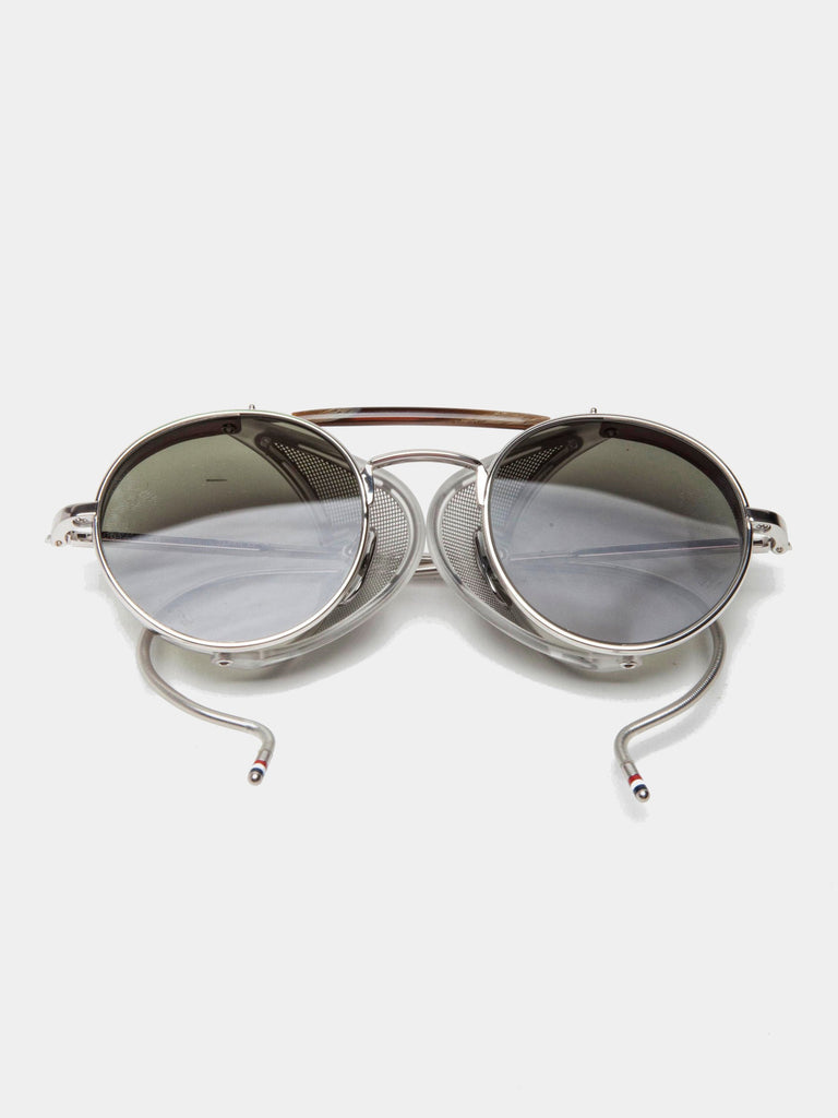 c99553fd400 Buy Thom Browne TB-001 (Shiny Silver G-15) Online at UNION LOS ...