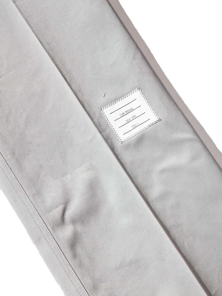 Med Grey Unconstructed Straight Leg Chino (Light Weight High Density Cotton Twill) 1221621406857