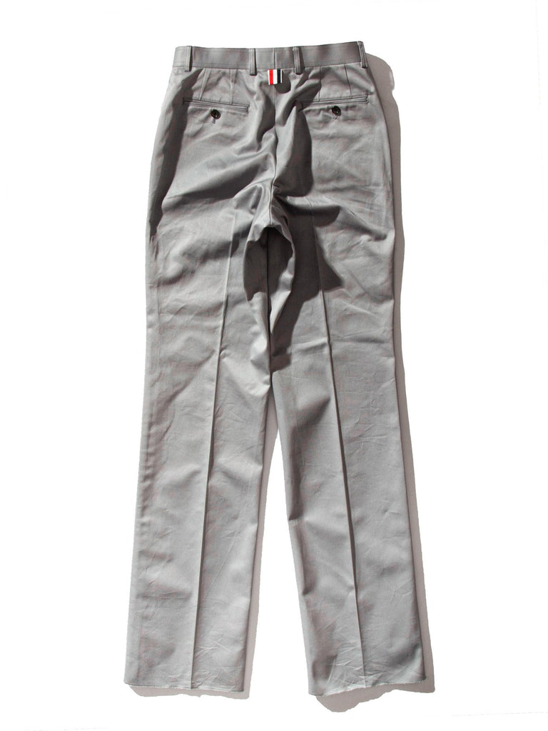 Med Grey Unconstructed Straight Leg Chino (Light Weight High Density Cotton Twill) 821621394761